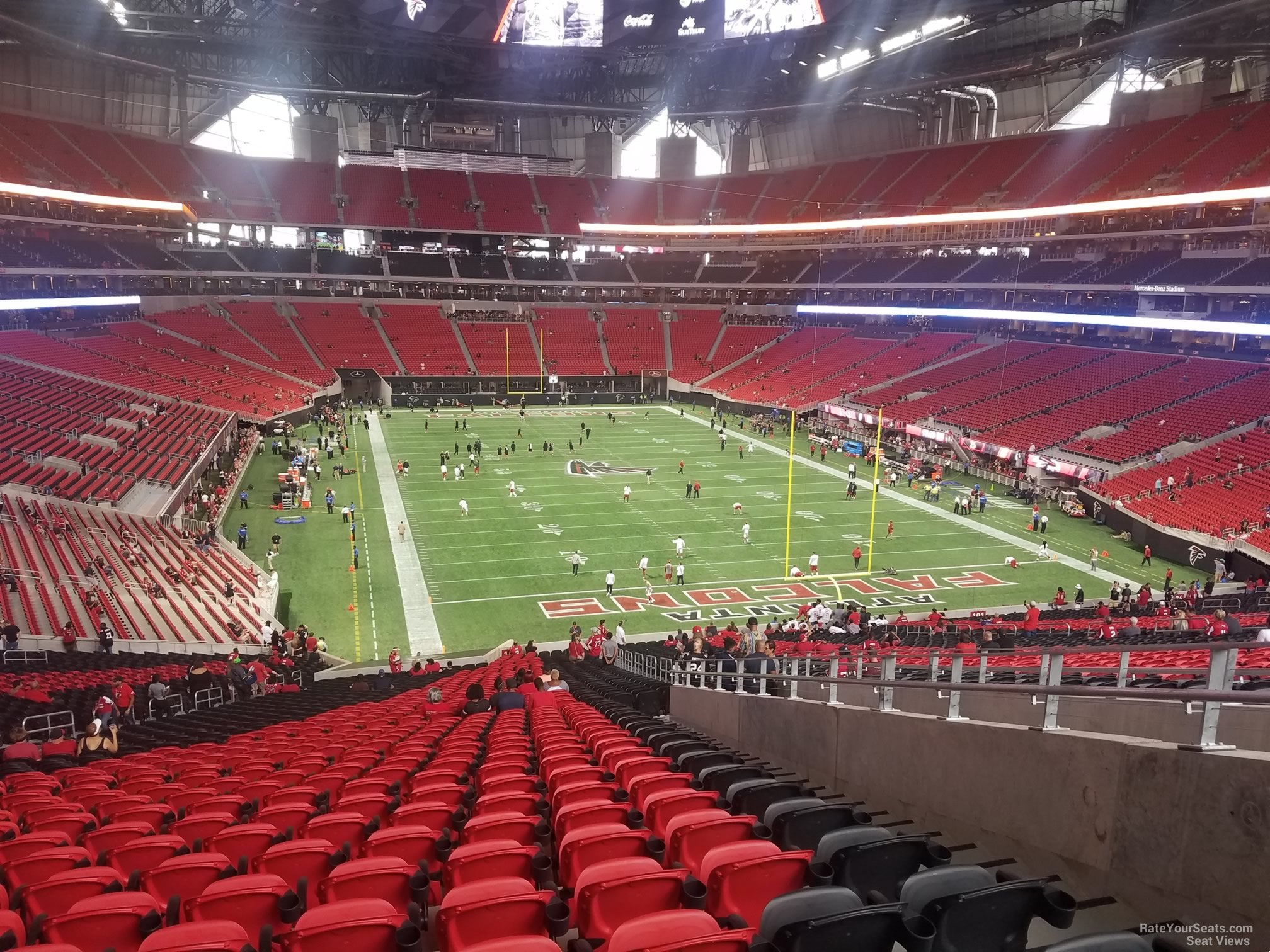 Mercedes Benz Stadium Section 103 Atlanta Falcons
