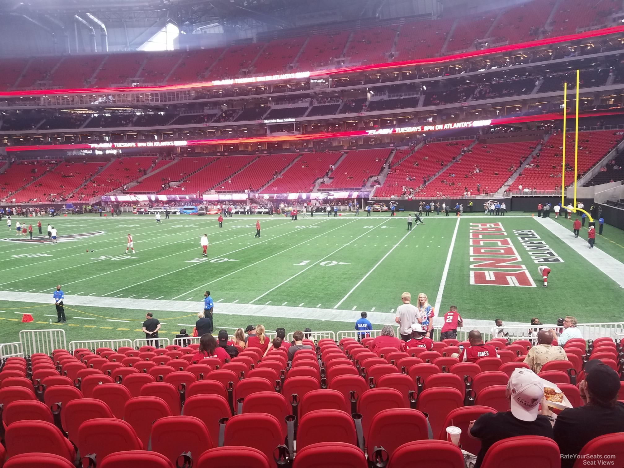 Mercedes Benz Stadium Section 104 Atlanta Falcons