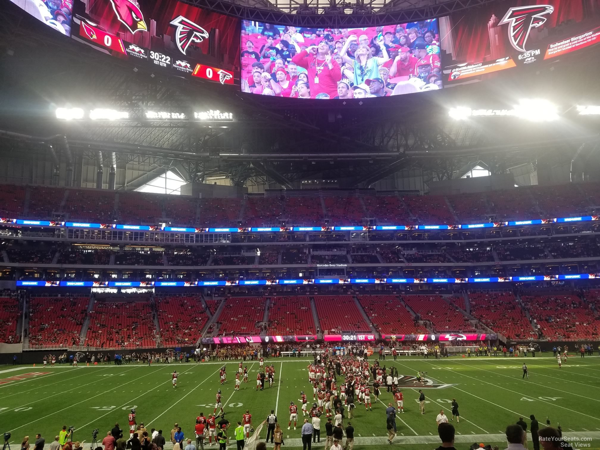 Mercedes Benz Stadium Club 111 Atlanta Falcons