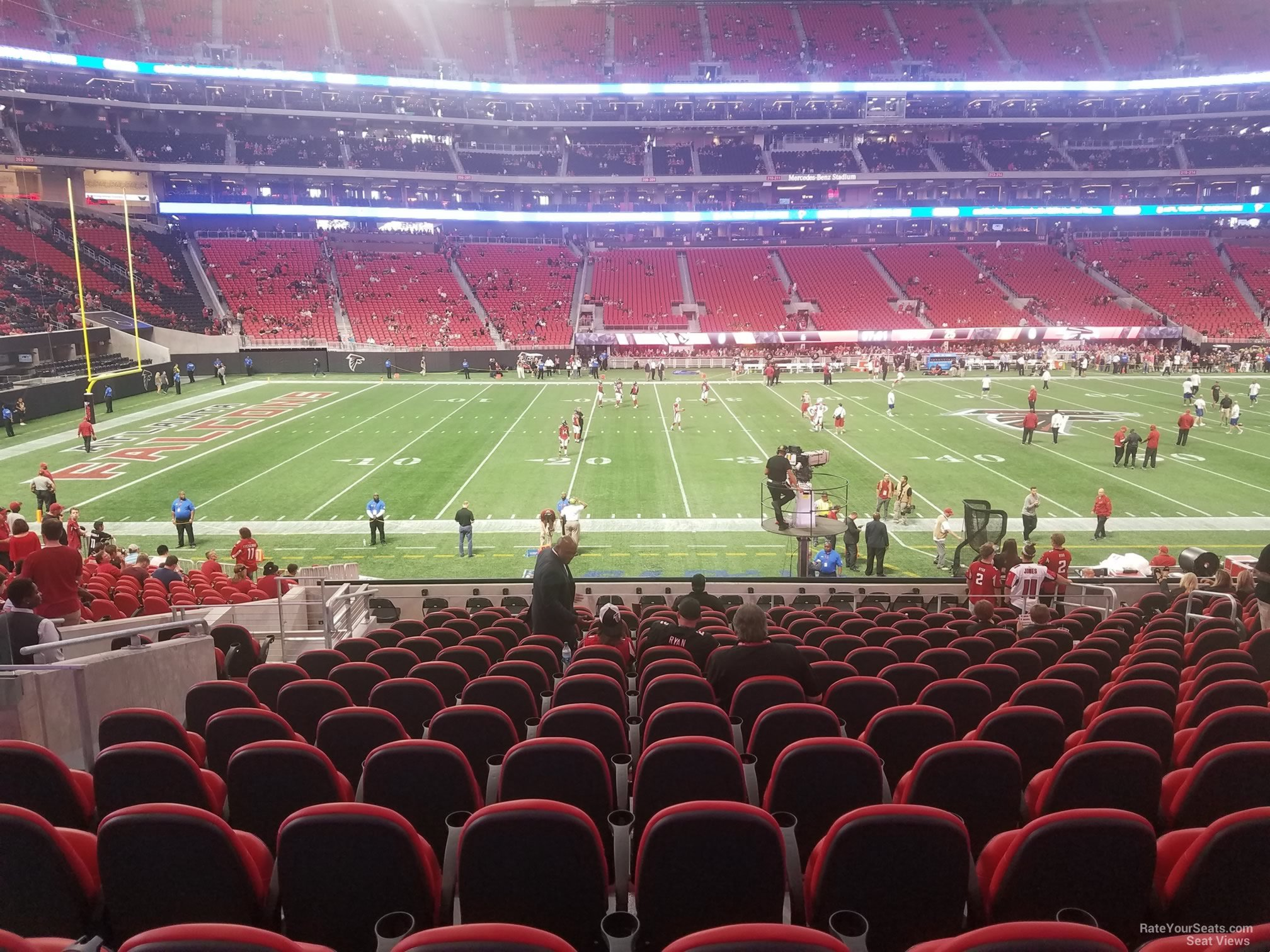 Mercedes Benz Stadium Club 130 Atlanta Falcons