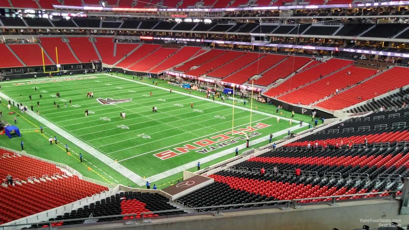 Mercedes Benz Stadium Section 202 Atlanta Falcons