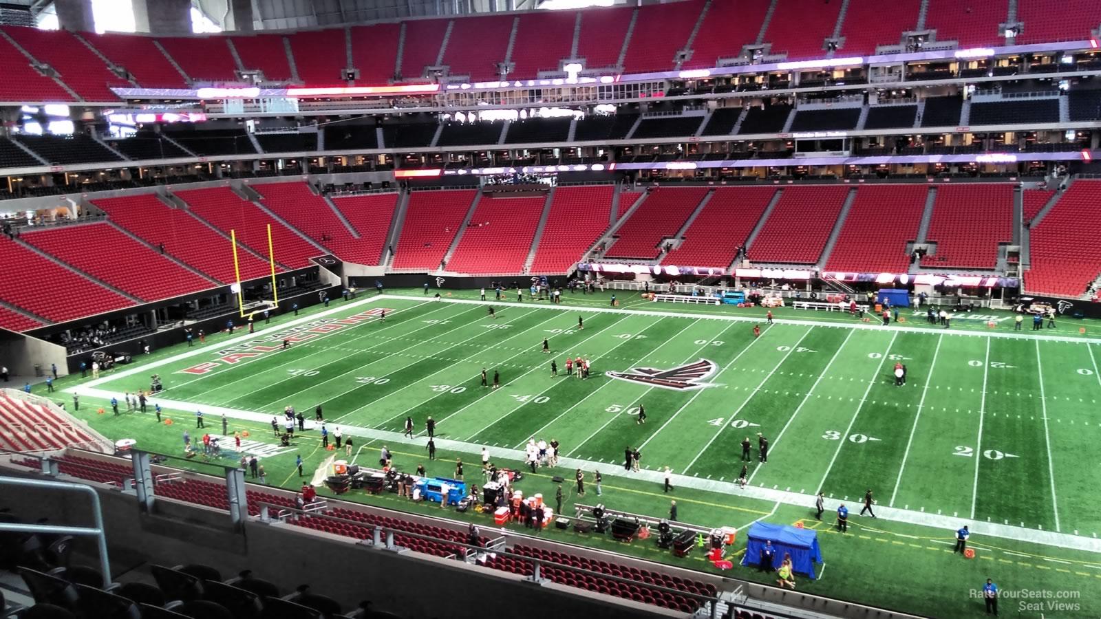 Mercedes Benz Stadium Section 208 Atlanta Falcons