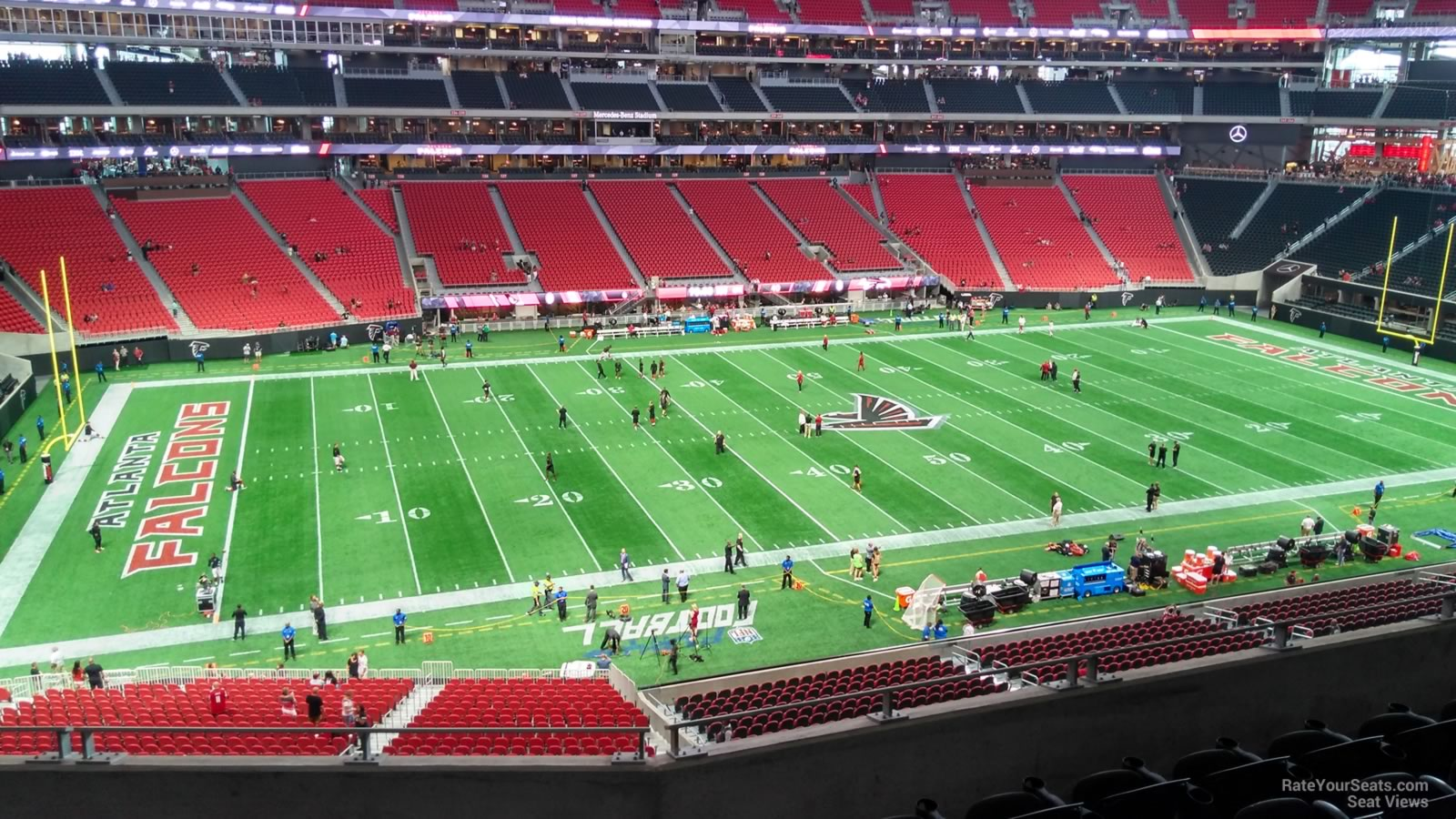 Mercedes Benz Stadium Section 215 Atlanta Falcons