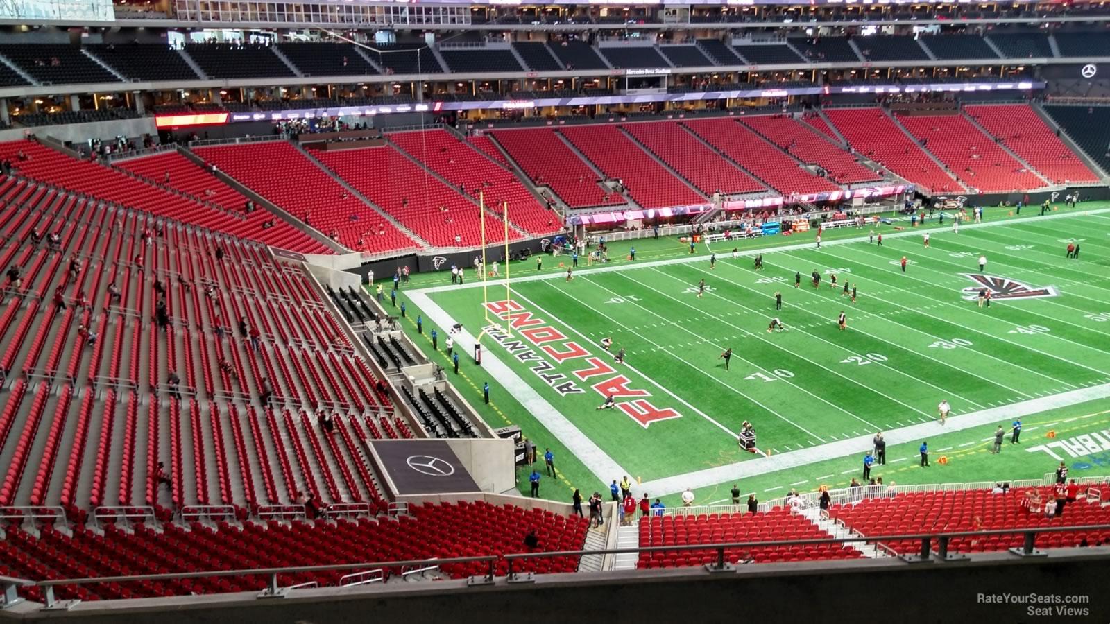 Mercedes Benz Stadium Section 218 Atlanta Falcons