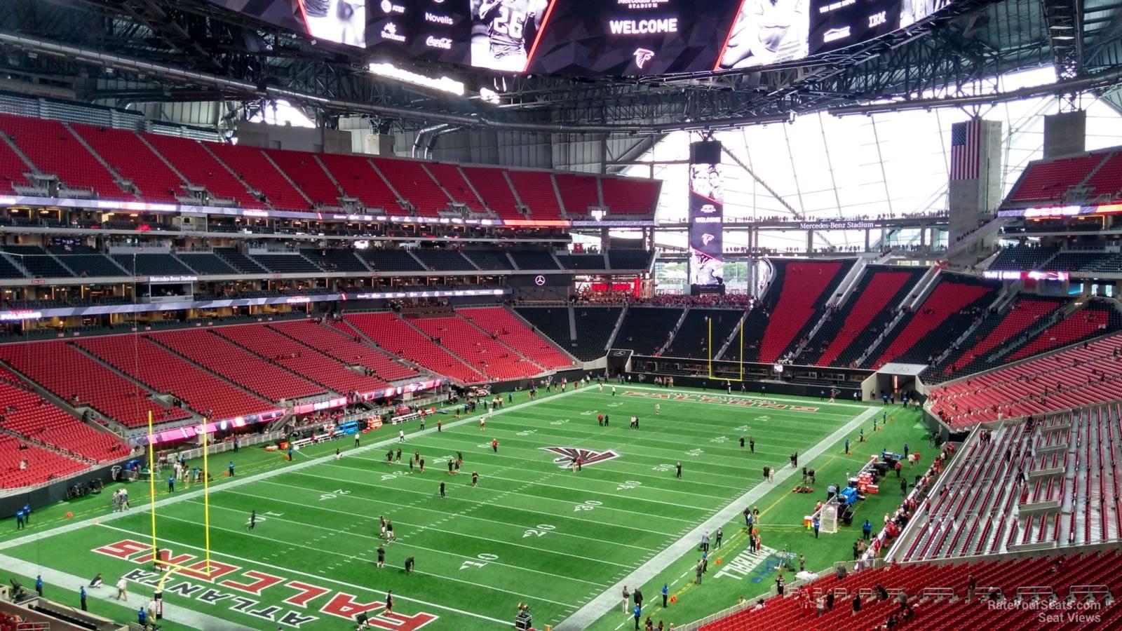 Mercedes Benz Stadium Section 220 Atlanta Falcons