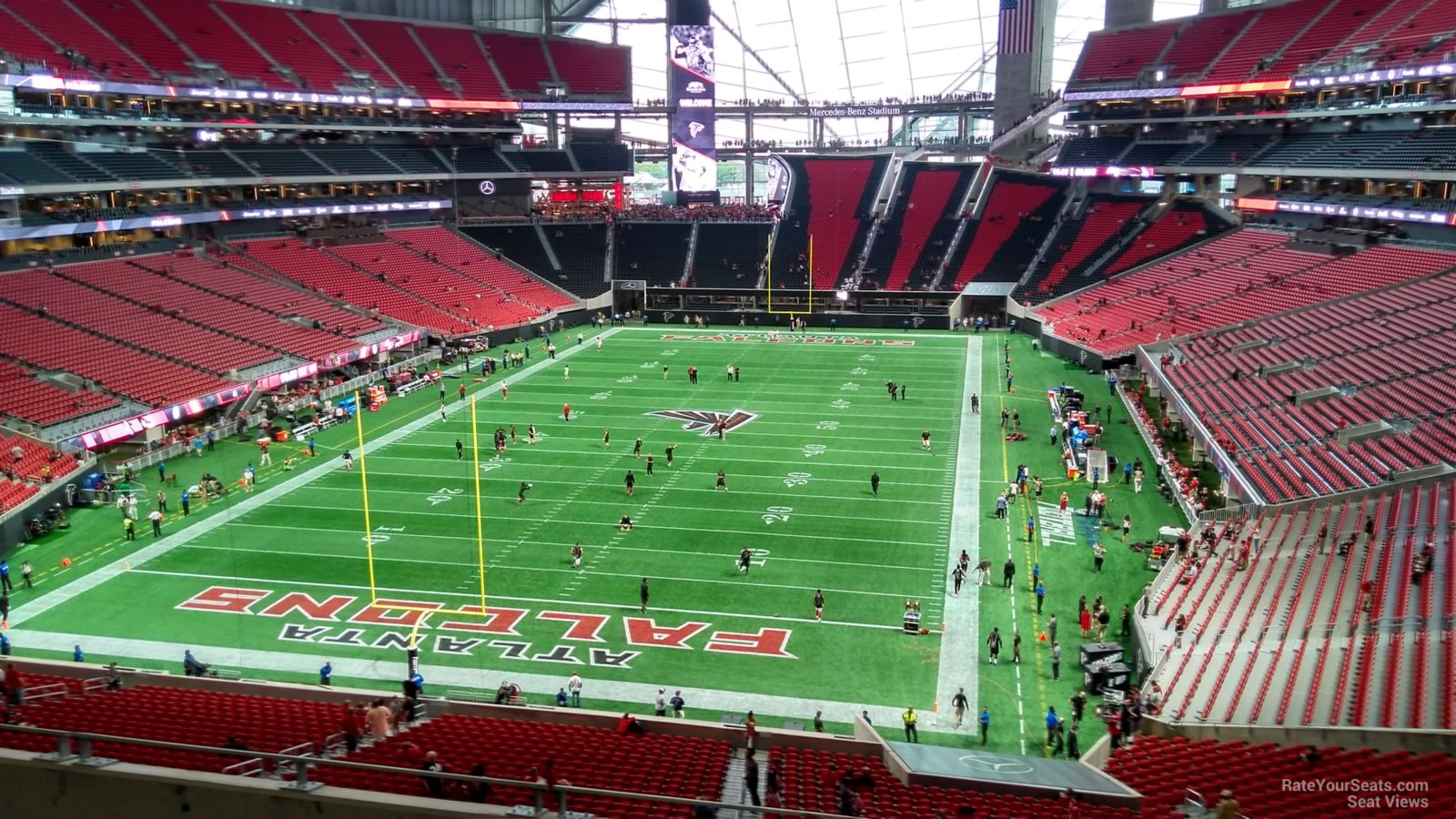 Mercedes Benz Stadium Section 222 Atlanta Falcons