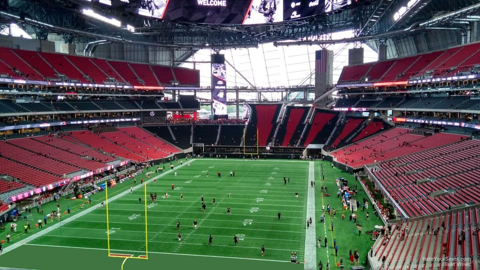 Mercedes Benz Stadium Section 222 Atlanta Falcons