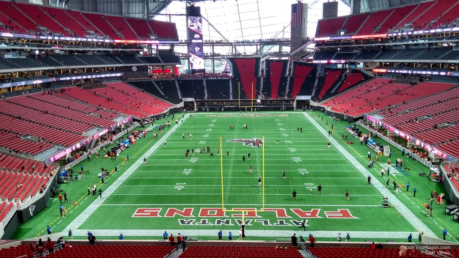 Mercedes Benz Stadium Section 224 Atlanta Falcons
