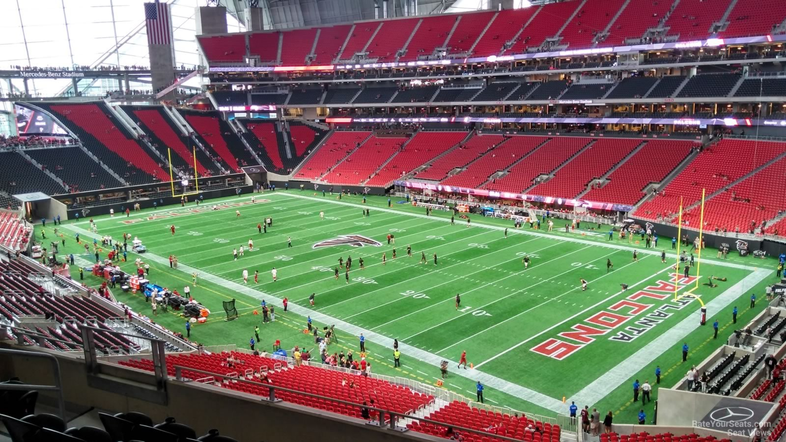 mercedes benz stadium section 230 atlanta falcons