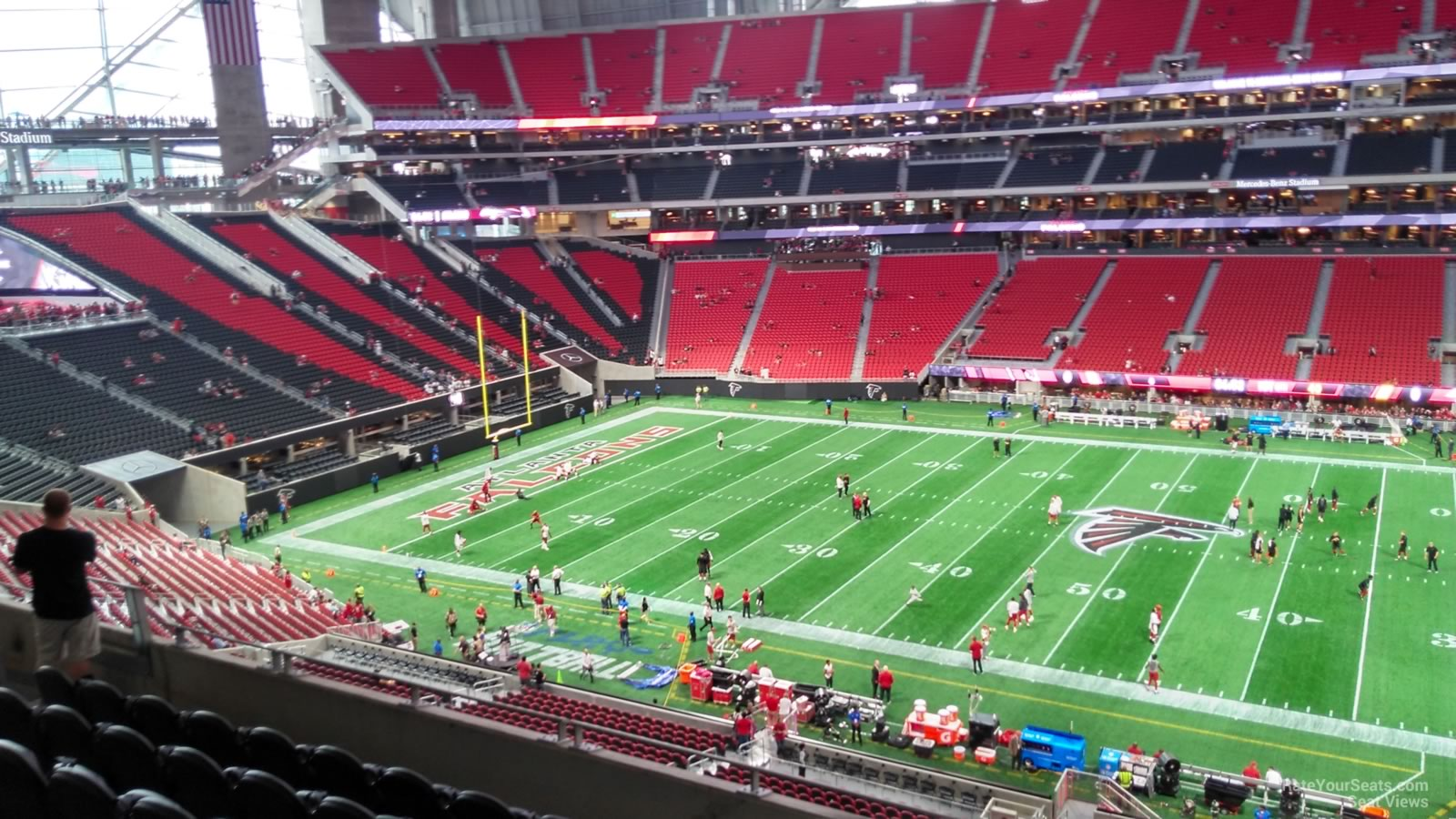 Mercedes Benz Stadium Club 236 Atlanta Falcons
