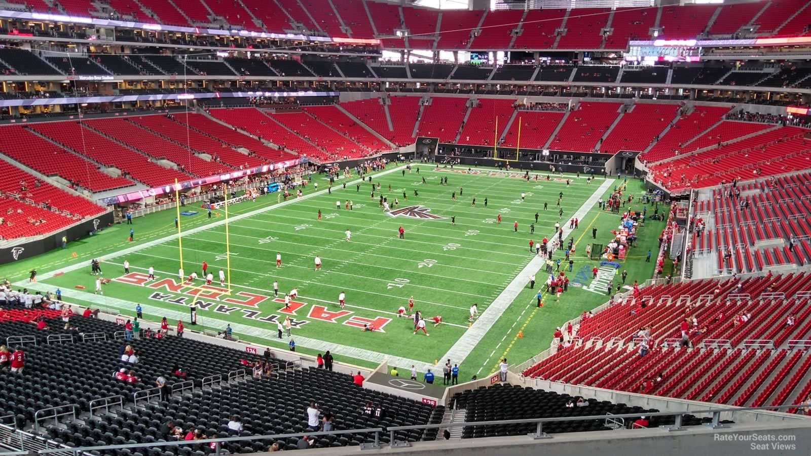 Mercedes Benz Stadium Section 247 Atlanta Falcons