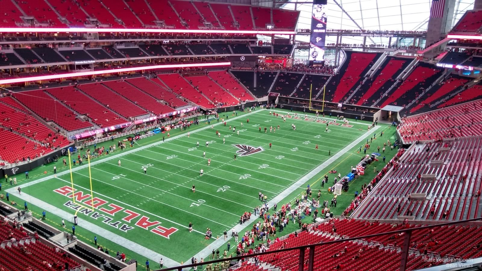 Mercedes Benz Stadium Section 320 Atlanta Falcons