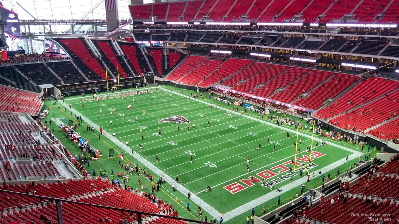 Mercedes Benz Stadium Section 331 Atlanta Falcons