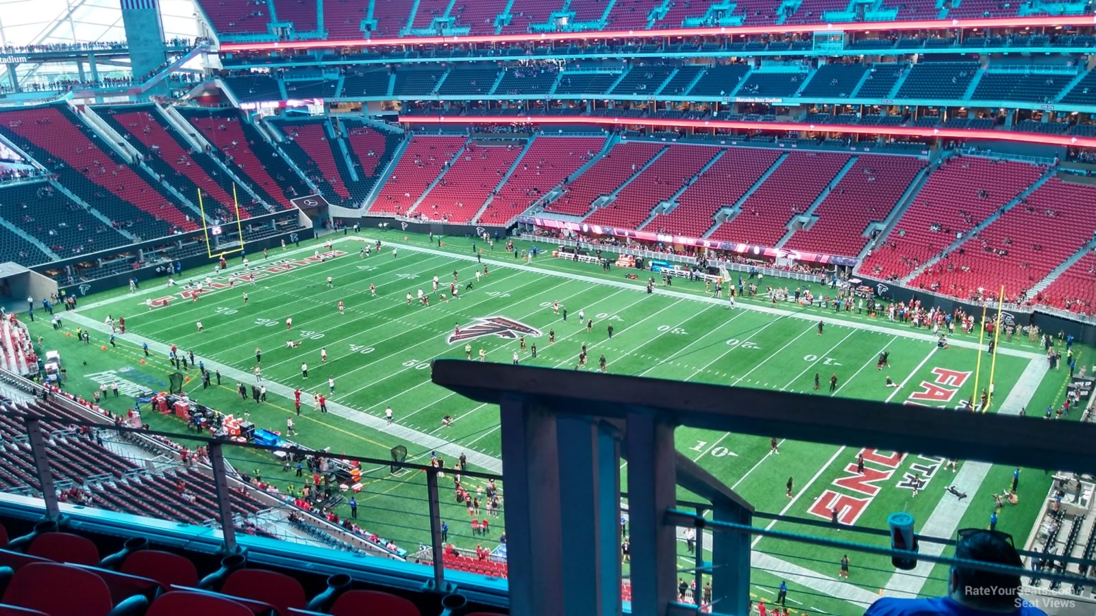 Mercedes Benz Stadium Section 334 Atlanta Falcons