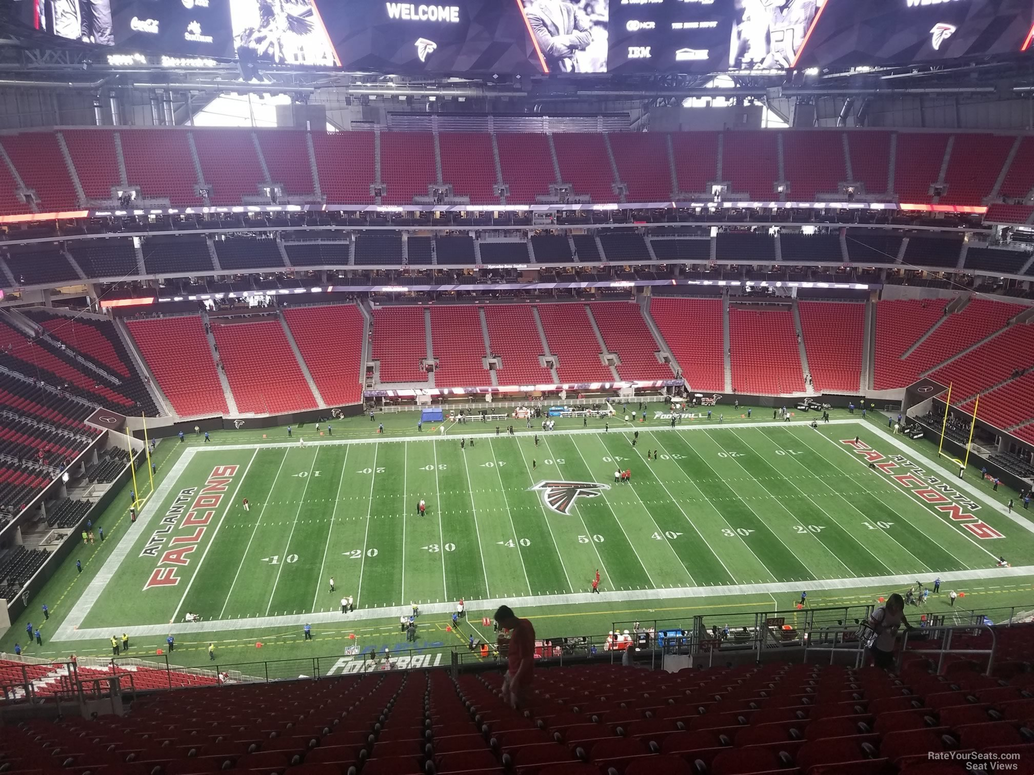 Mercedes Benz Stadium Section 341 Atlanta Falcons