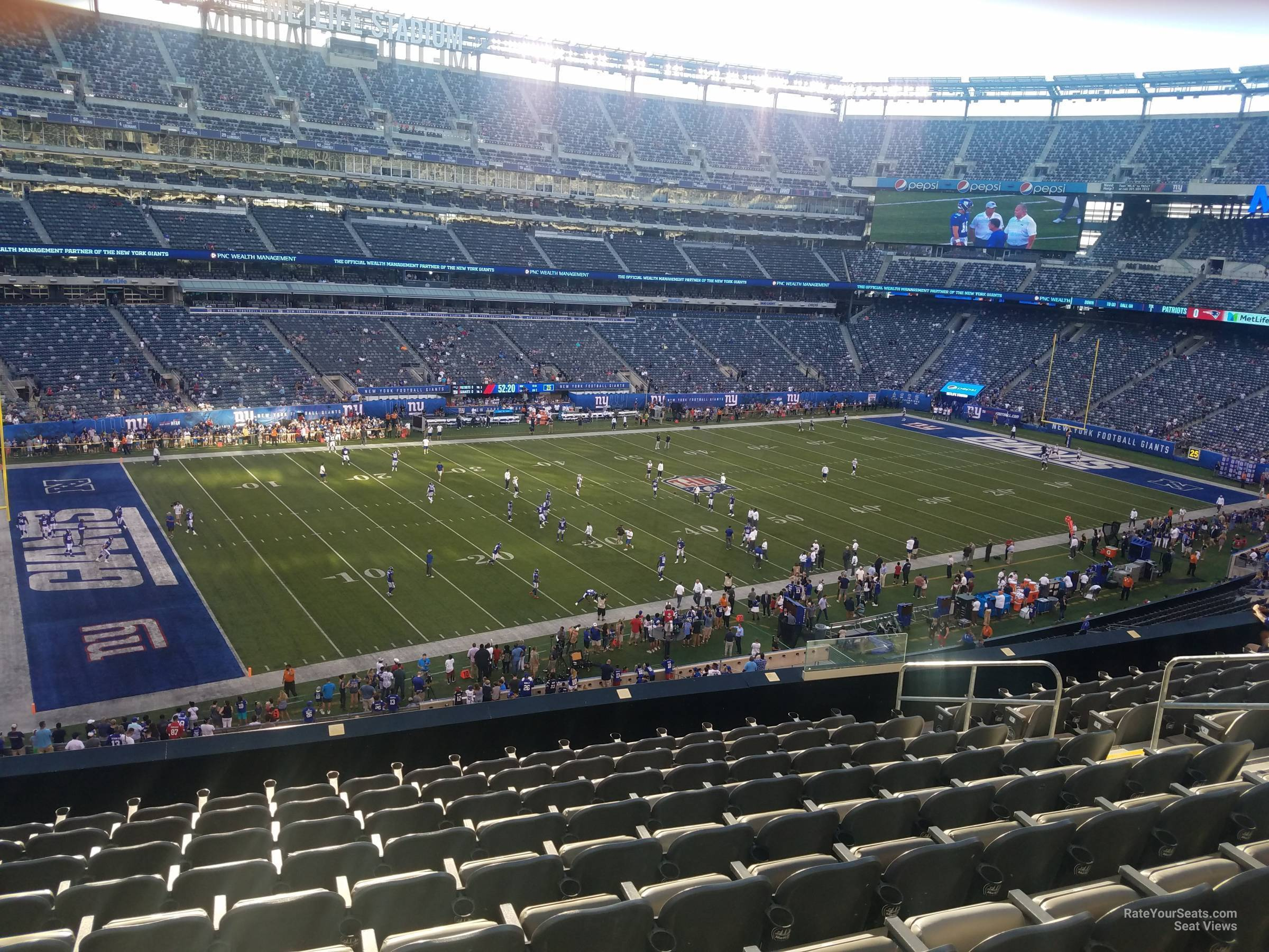 MetLife Stadium Section 218 - Giants Jets - RateYourSeats.com 11b79b068