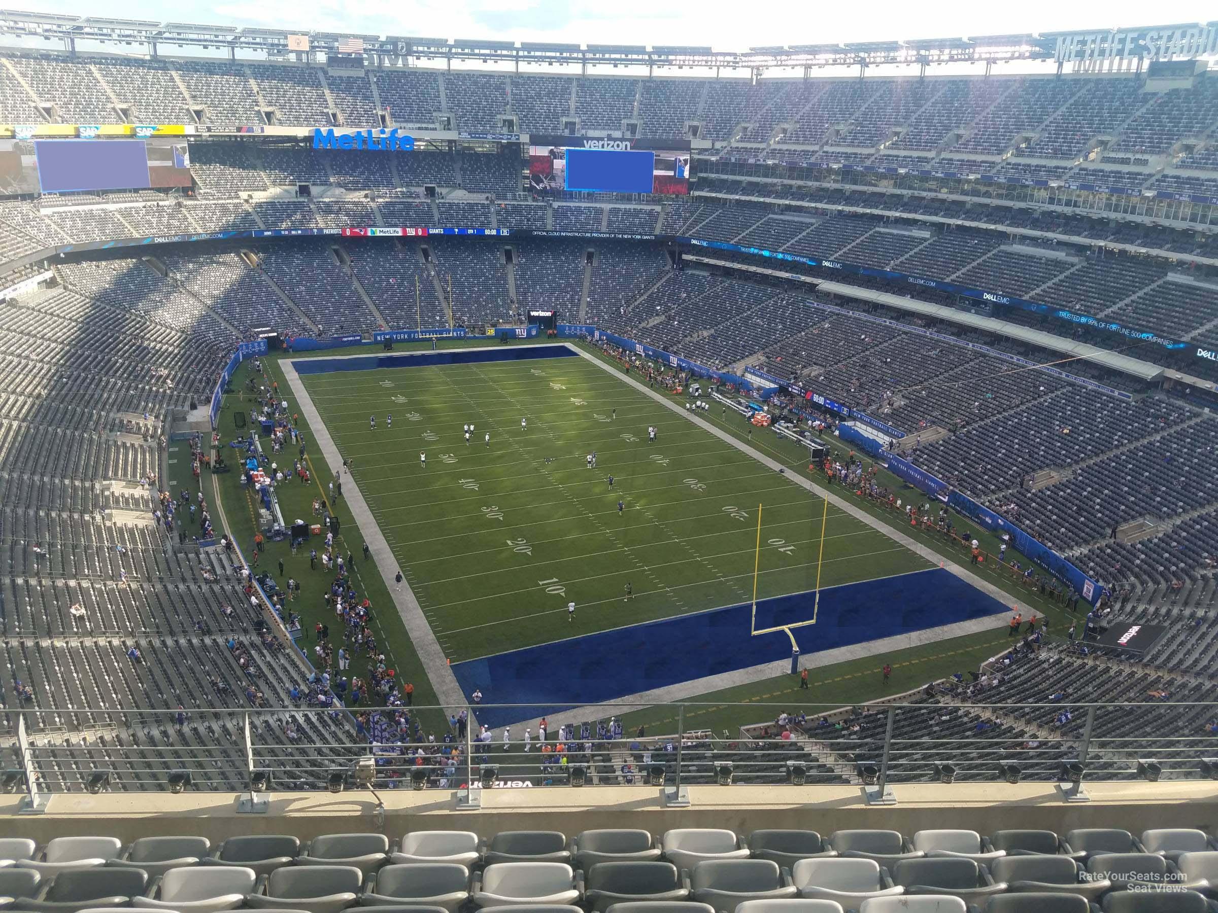 Metlife Stadium Section 304 Giants Jets Rateyourseats Com