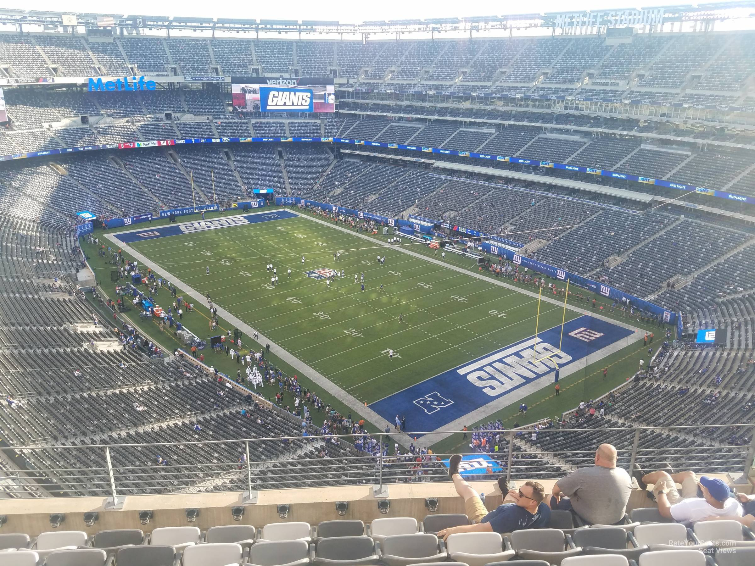 1b076af5c MetLife Stadium Section 306 - Giants Jets - RateYourSeats.com