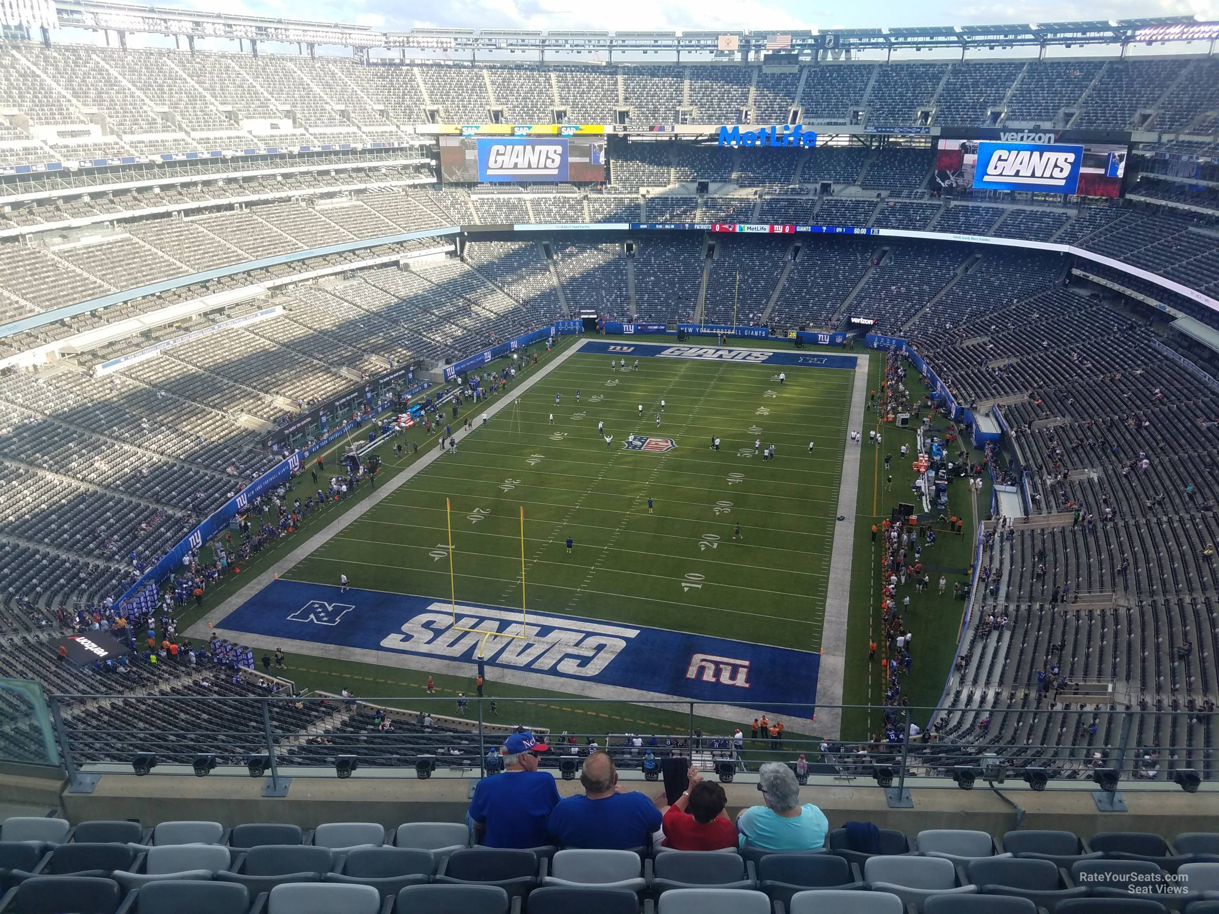 Section 349 seat view