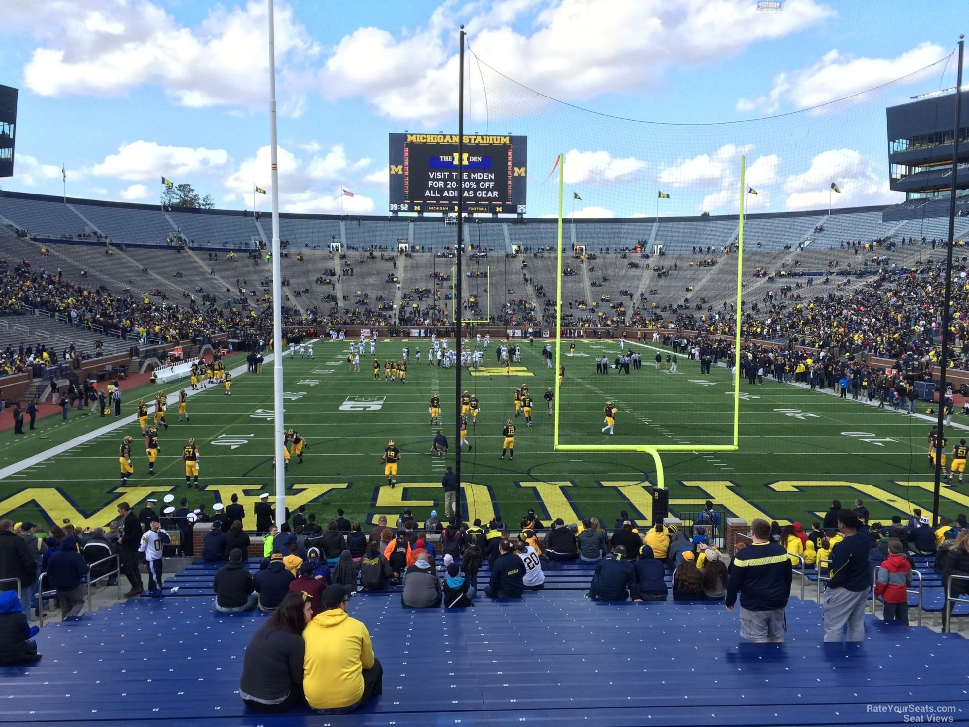Seat View for Michigan Stadium Section 13R, Row 30, Seat 25