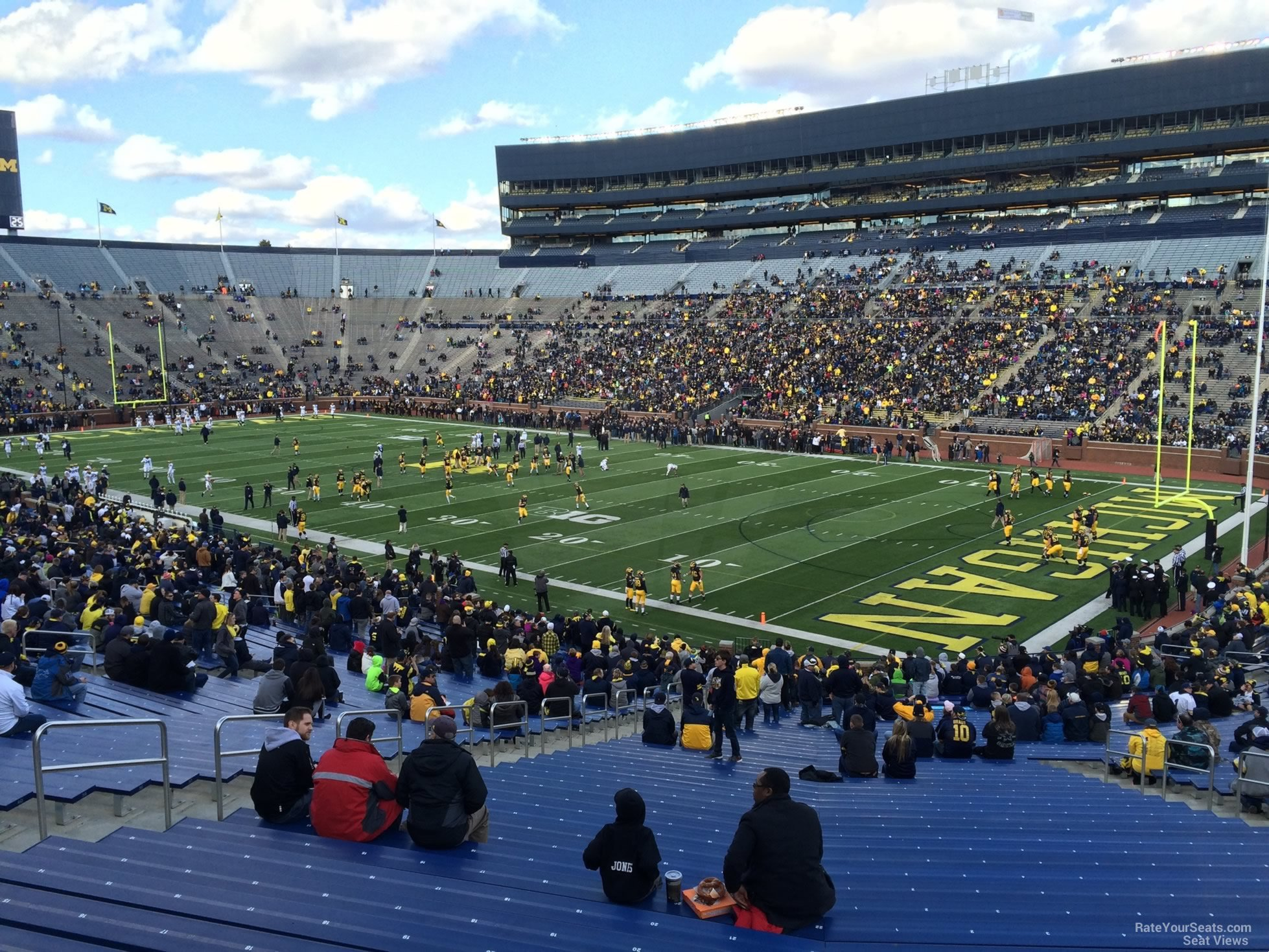 Seat View for Michigan Stadium Section 18, Row 50