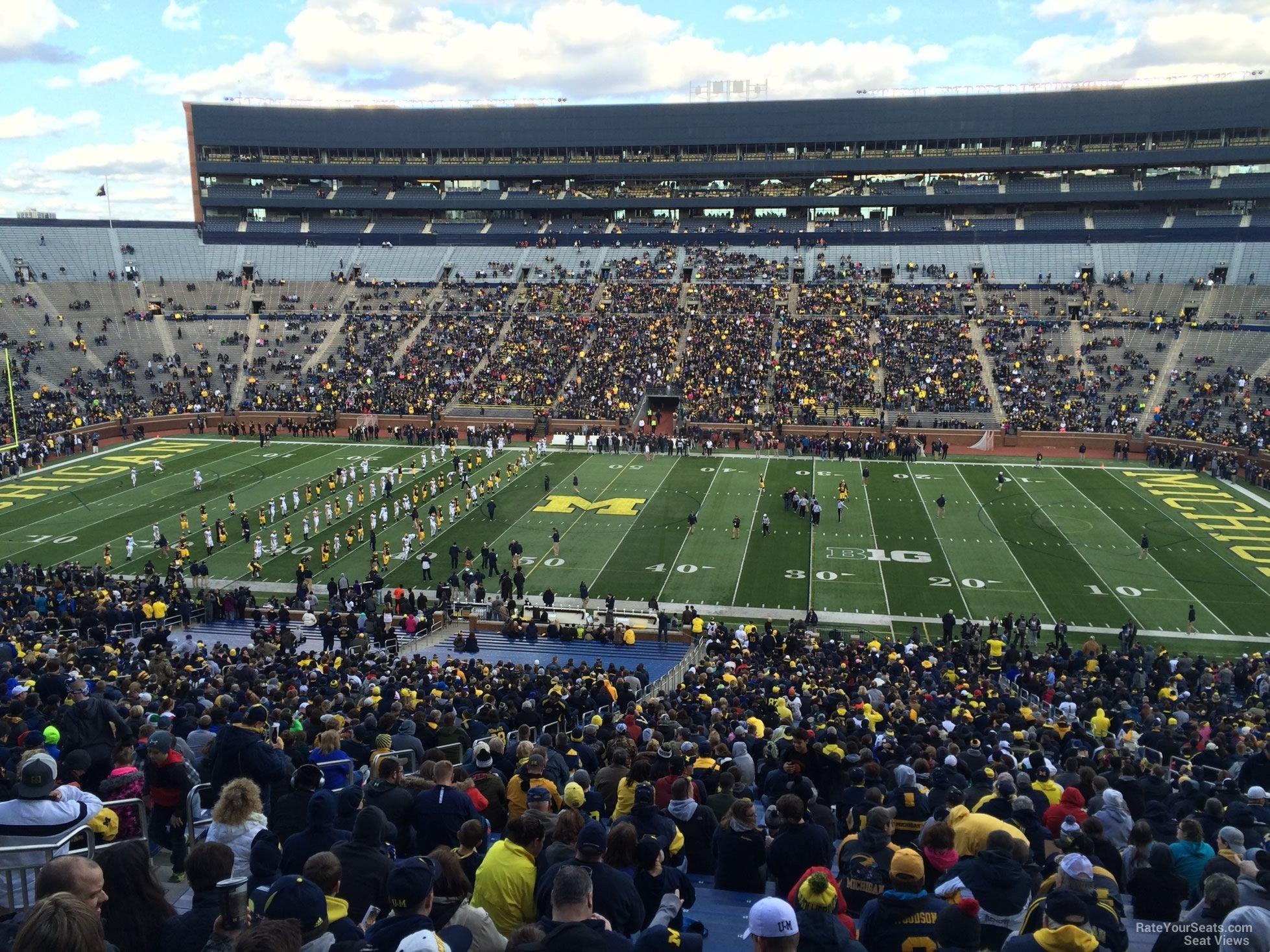 Michigan Stadium Section 22 Rateyourseats Com