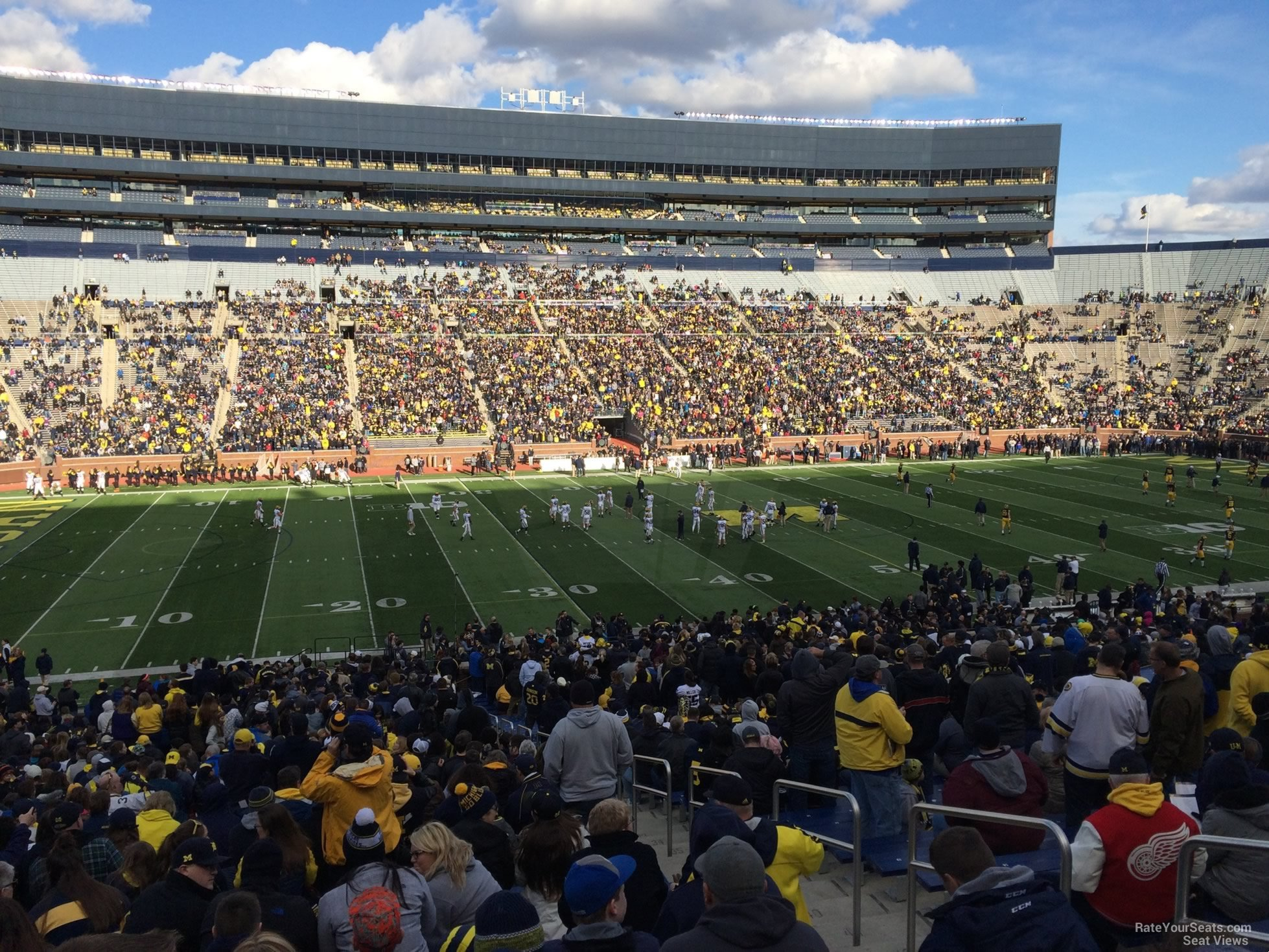 Seat View for Michigan Stadium Section 25, Row 50