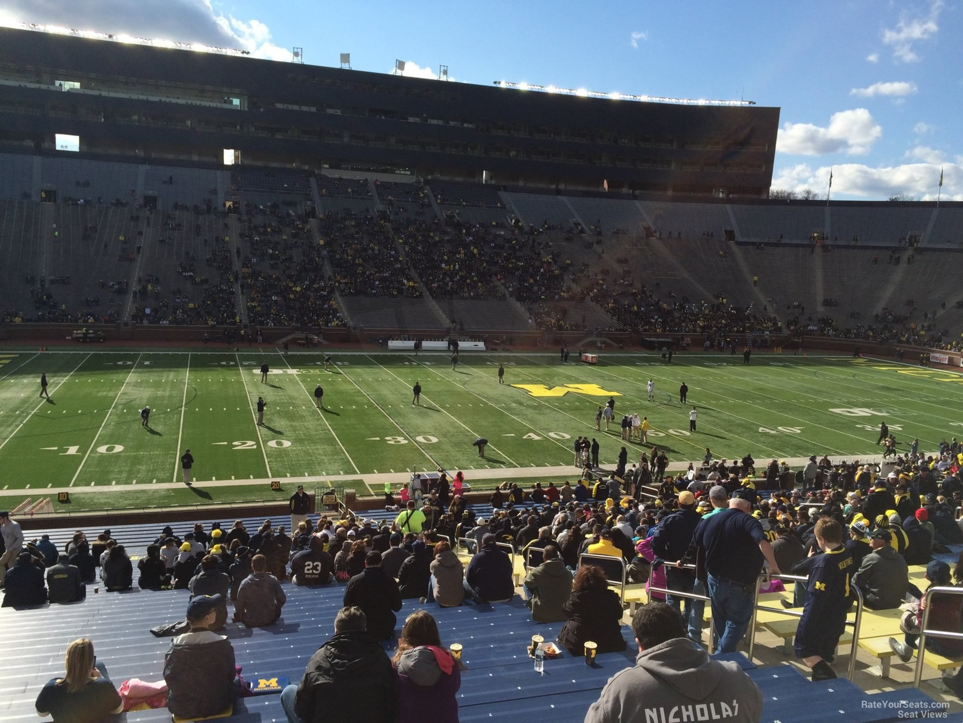 Seat View for Michigan Stadium Section 3, Row 30