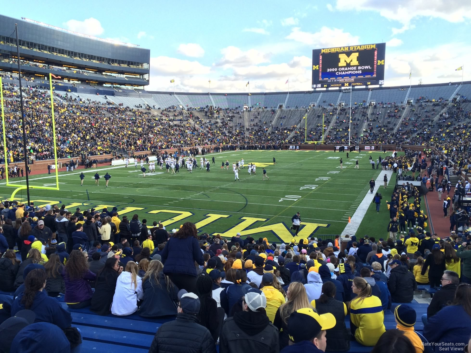 Seat View for Michigan Stadium Section 31R, Row 30
