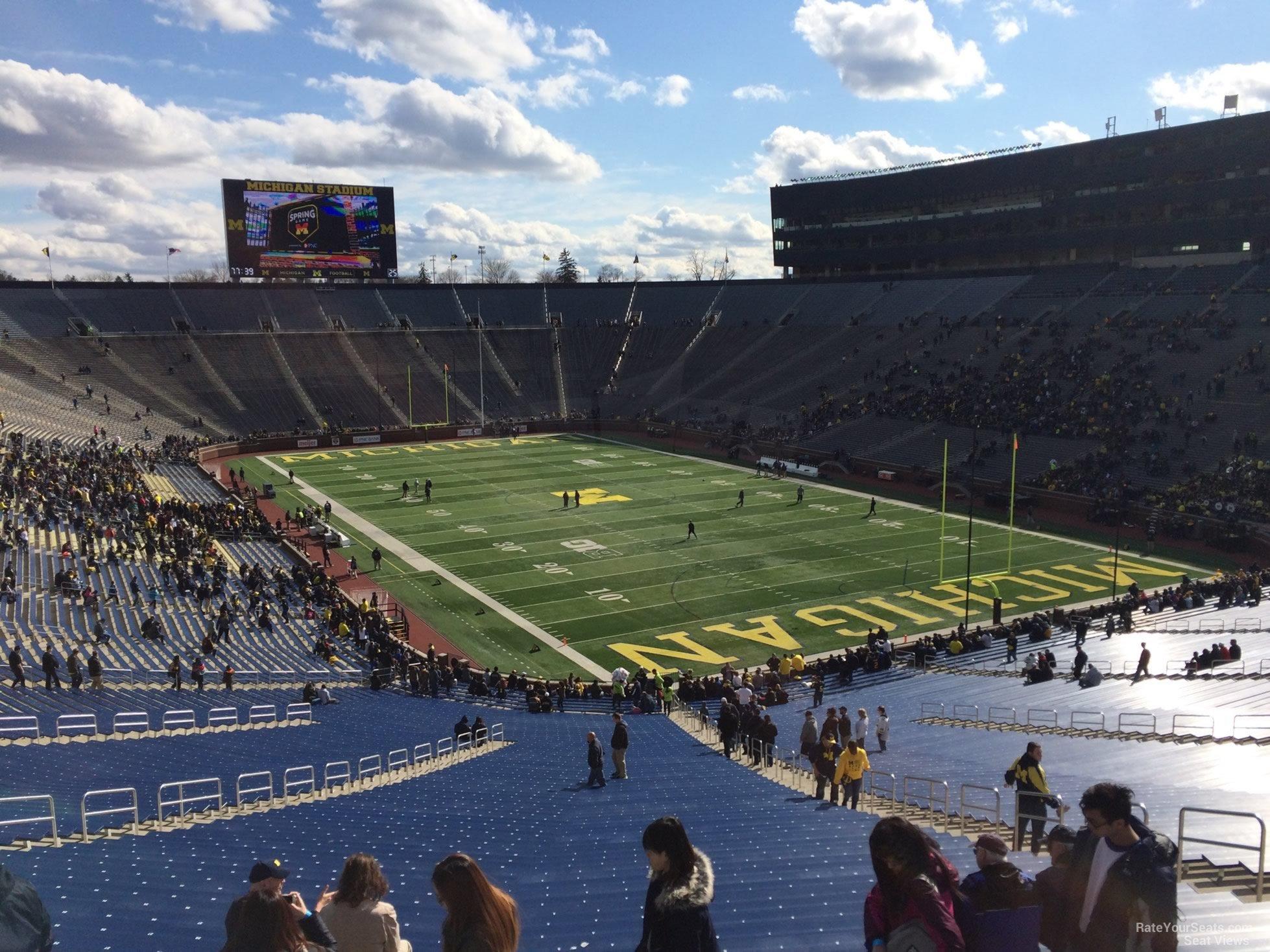Michigan Stadium Section 38 Rateyourseats Com