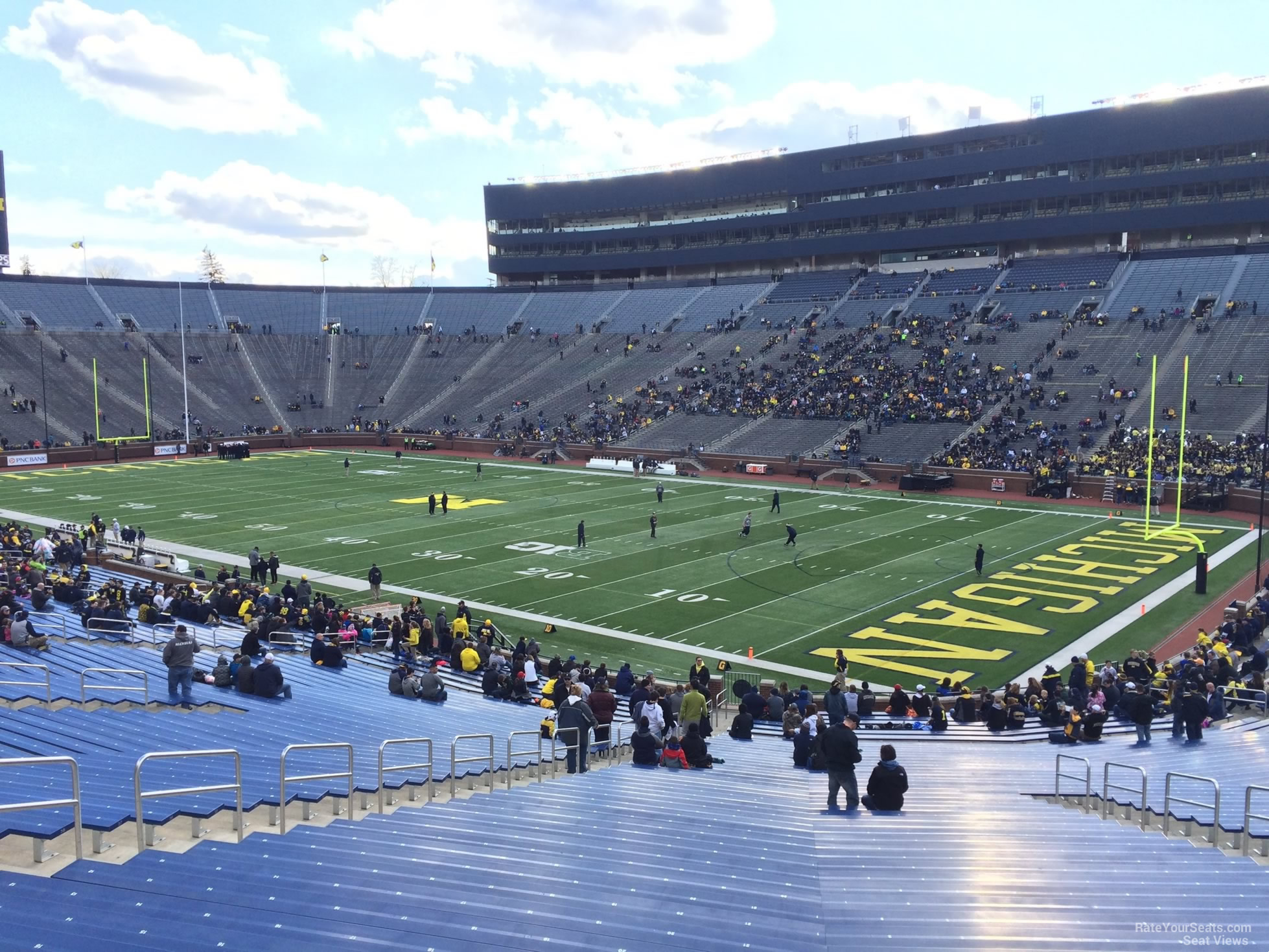 Seat View for Michigan Stadium Section 39, Row 50