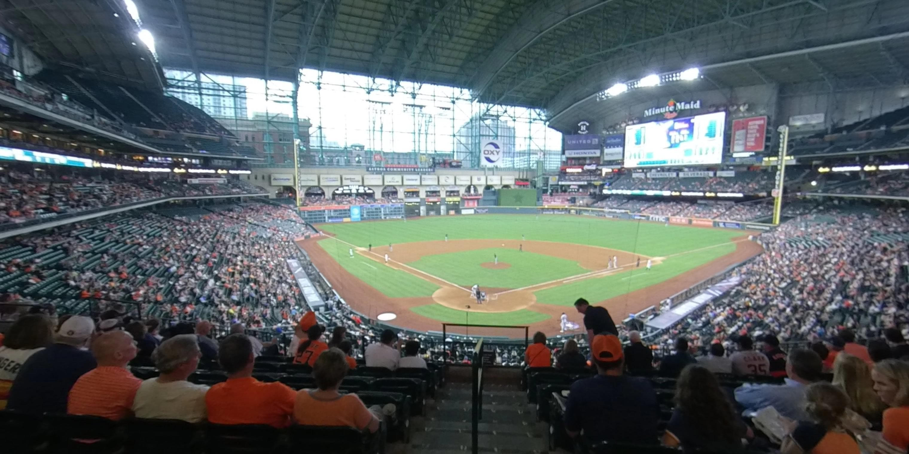 360° Photo From Minute Maid Park Section 219