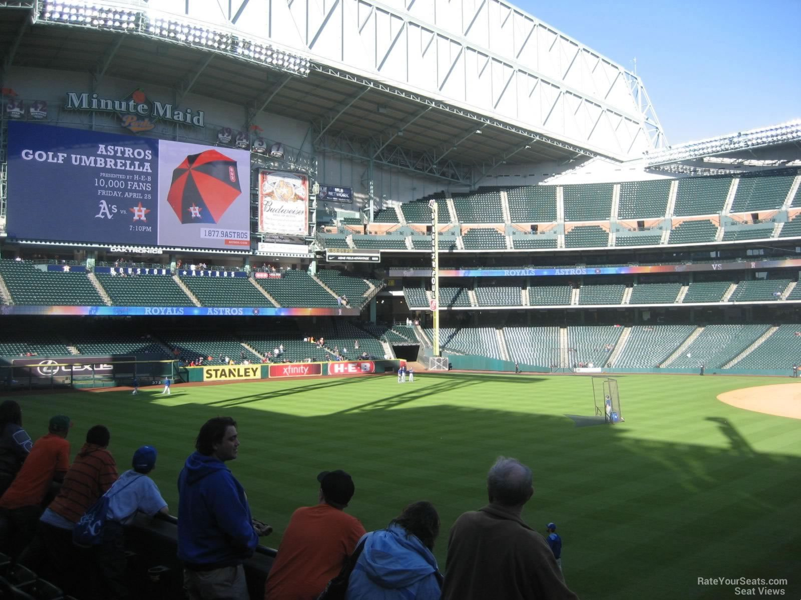 Seat View for Minute Maid Park Section 103