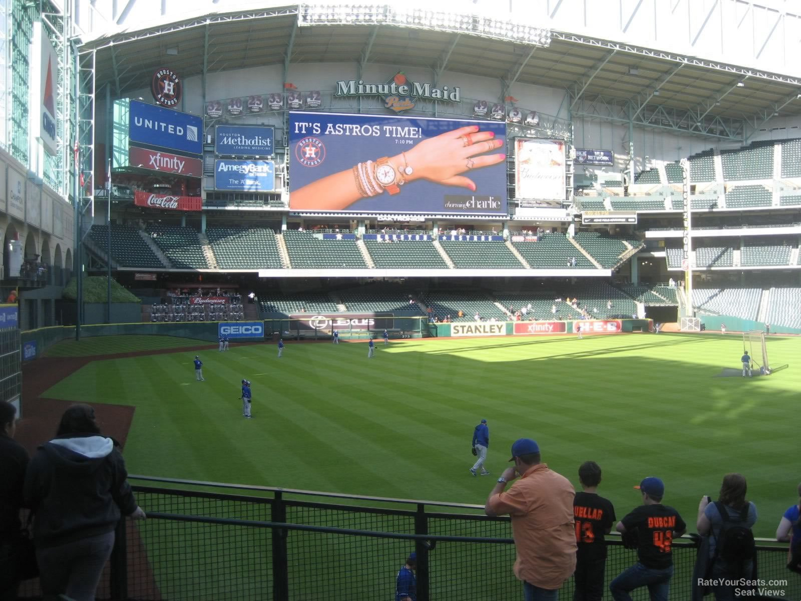 Minute Maid Park Section 105 Houston Astros