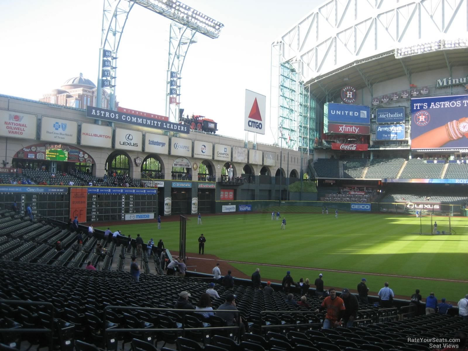 Minute Maid Park Section 111 Houston Astros