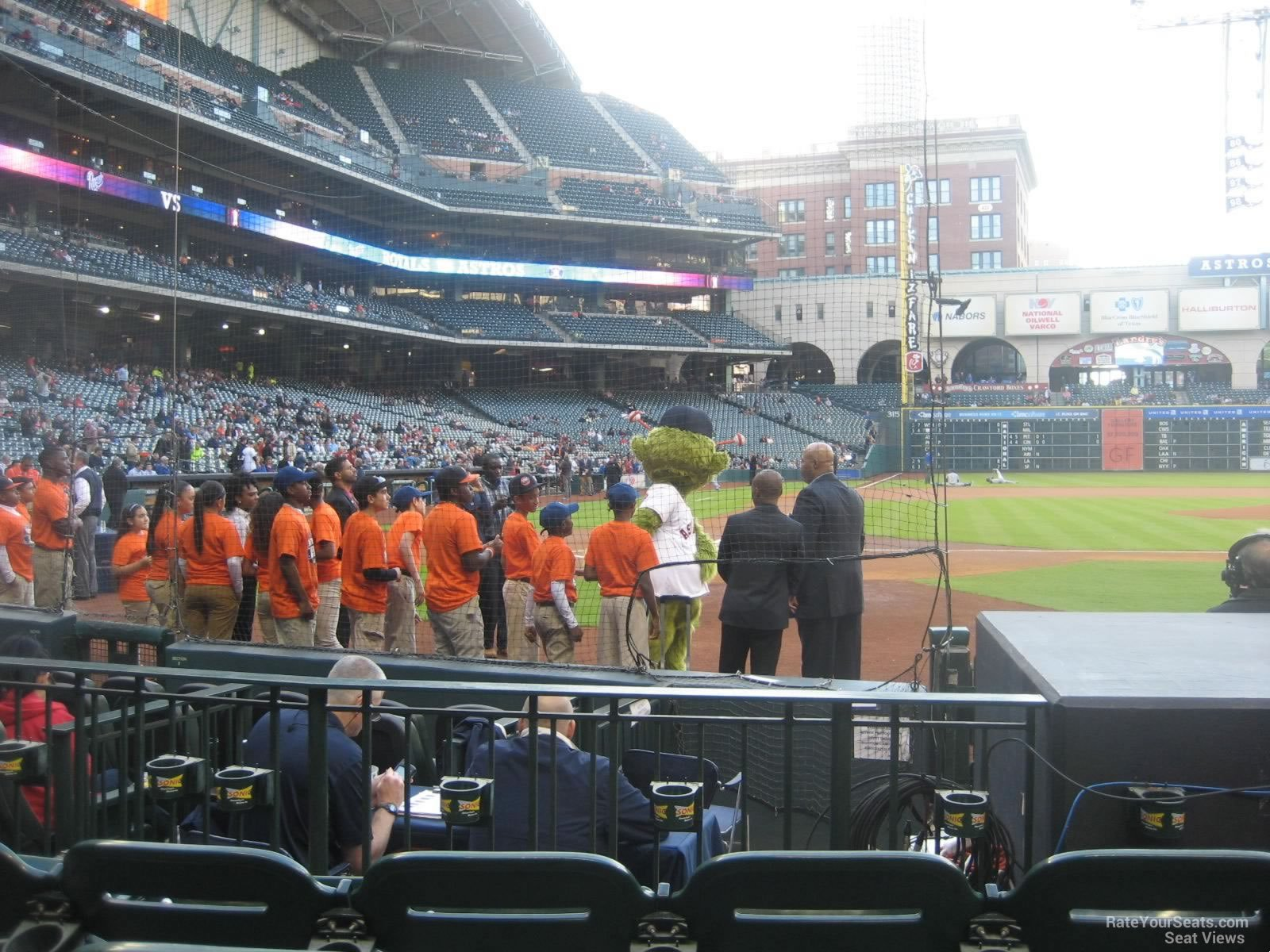 Seat View for Minute Maid Park Section 122, Row 8