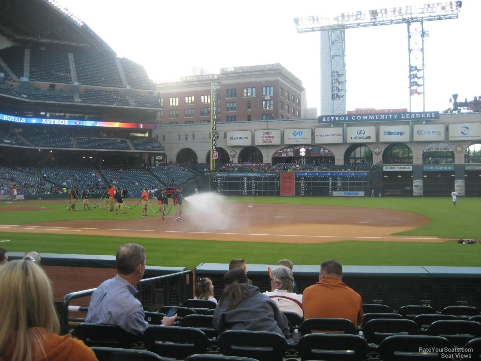 Minute Maid Park Section 127 Houston Astros