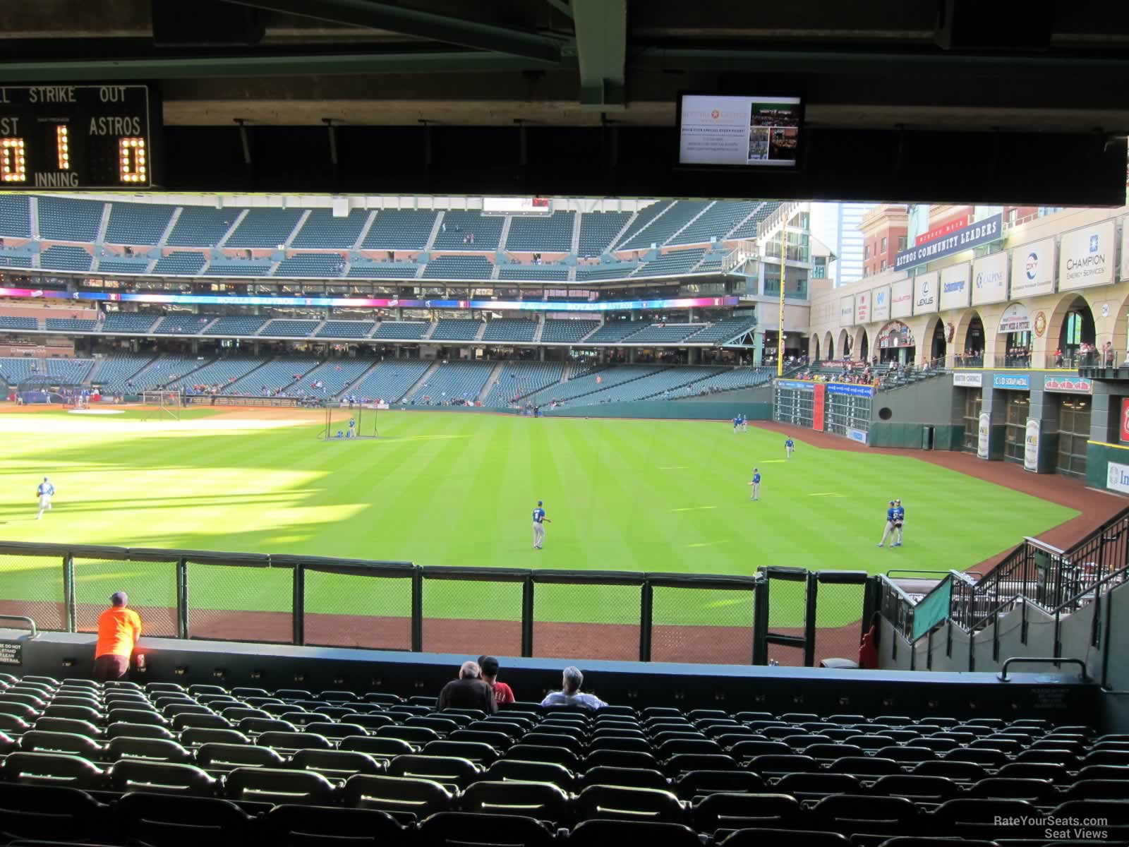 Seat View For Minute Maid Park Section 156 Row 13