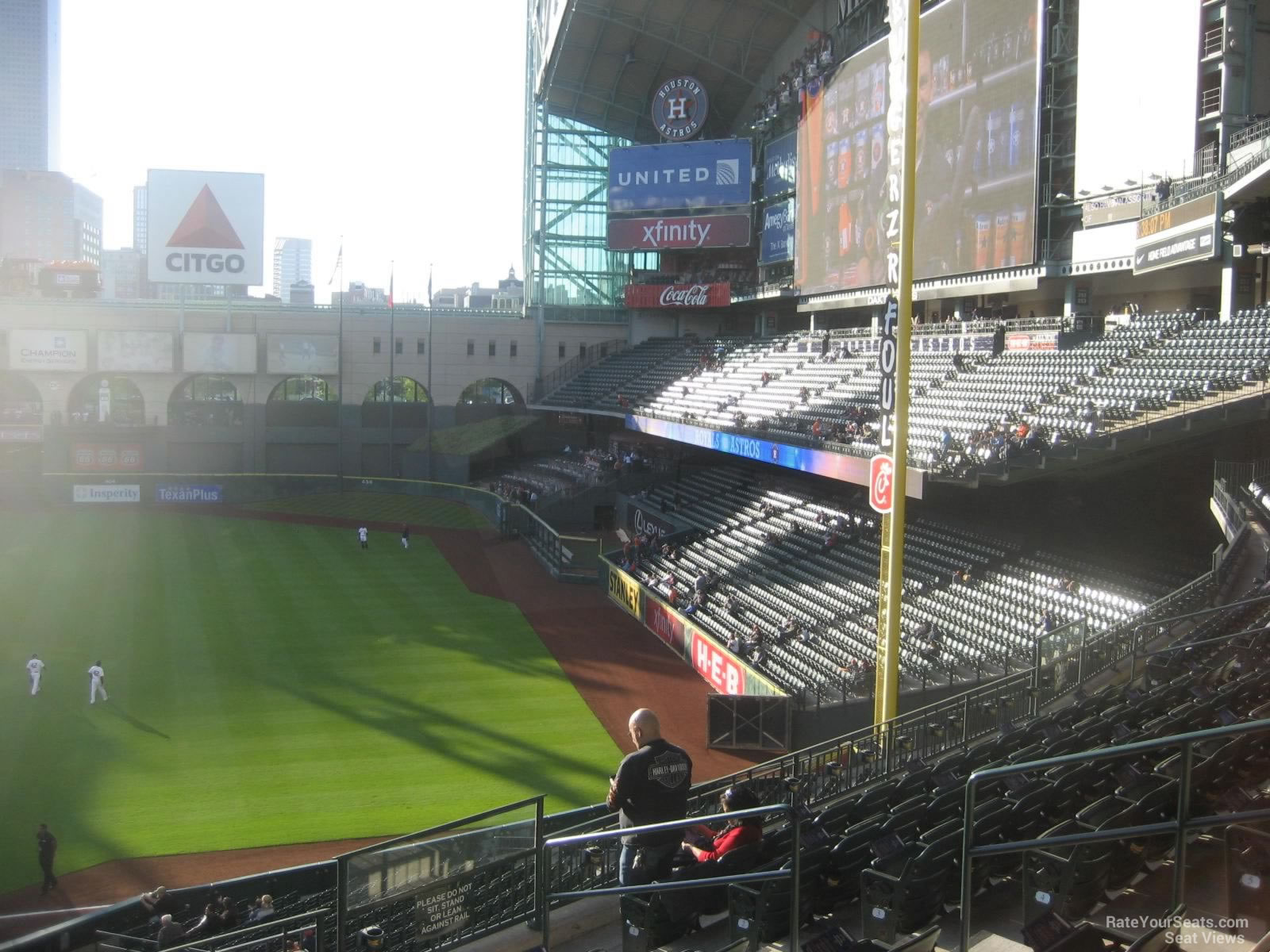 Seat View for Minute Maid Park Section 231, Row 8