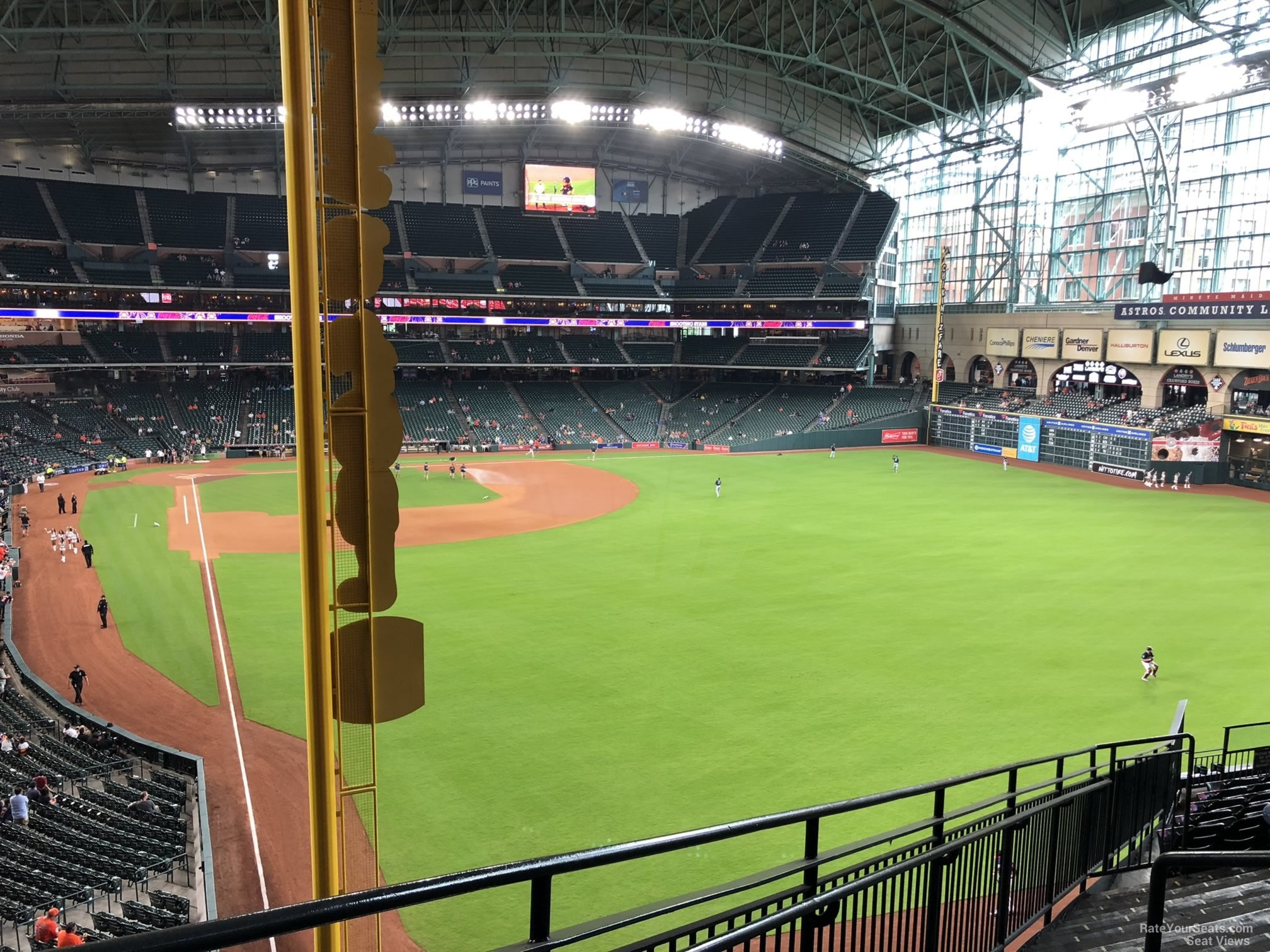 Minute Maid Park Section 250 Houston Astros