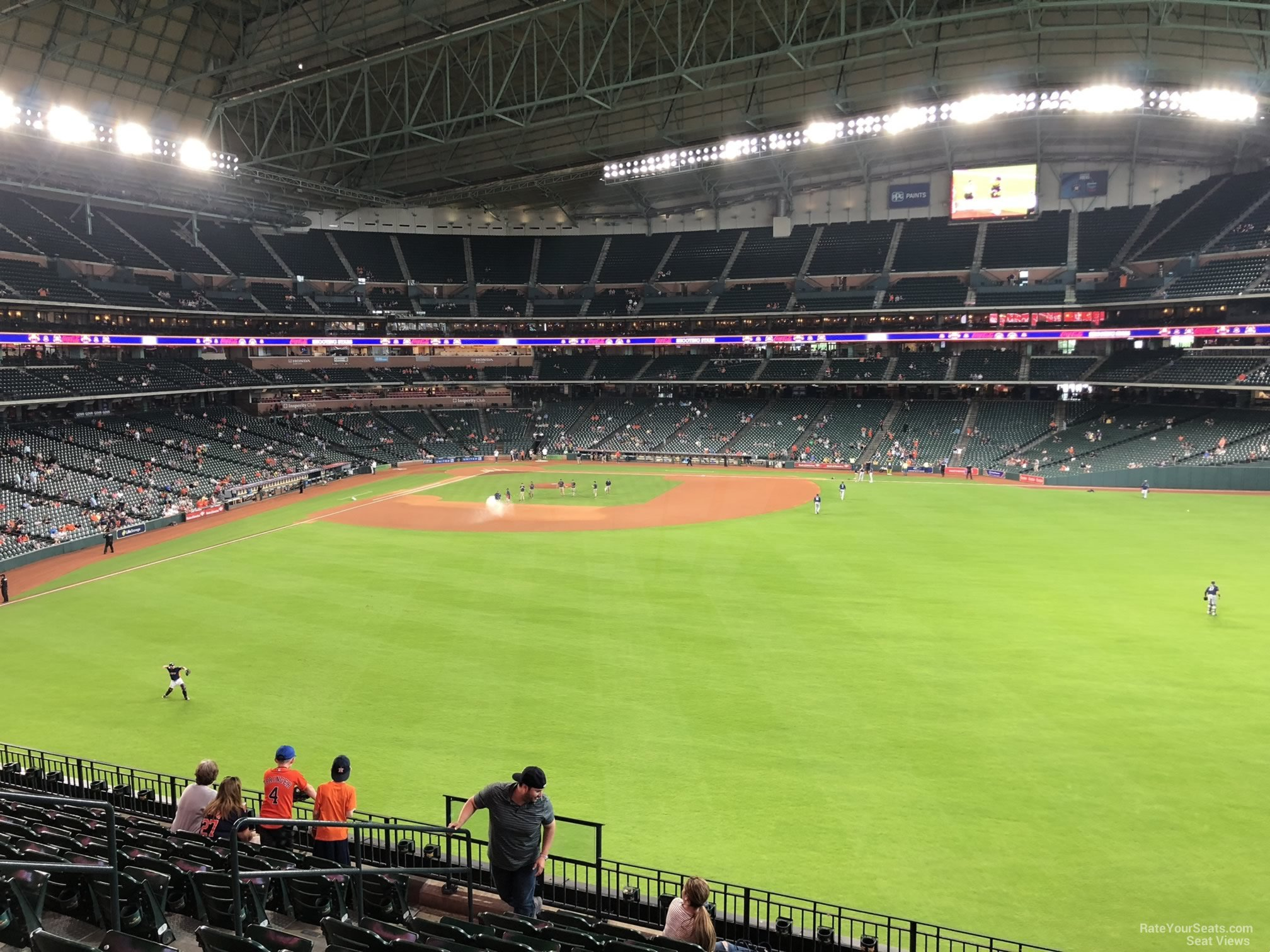Minute Maid Park Section 255 Houston Astros