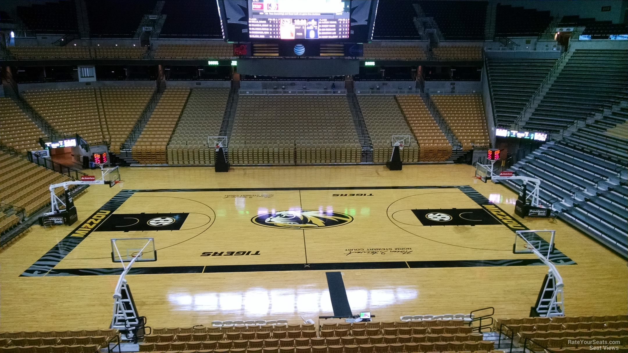 Missouri basketball mizzou arena seating chart rateyourseats com