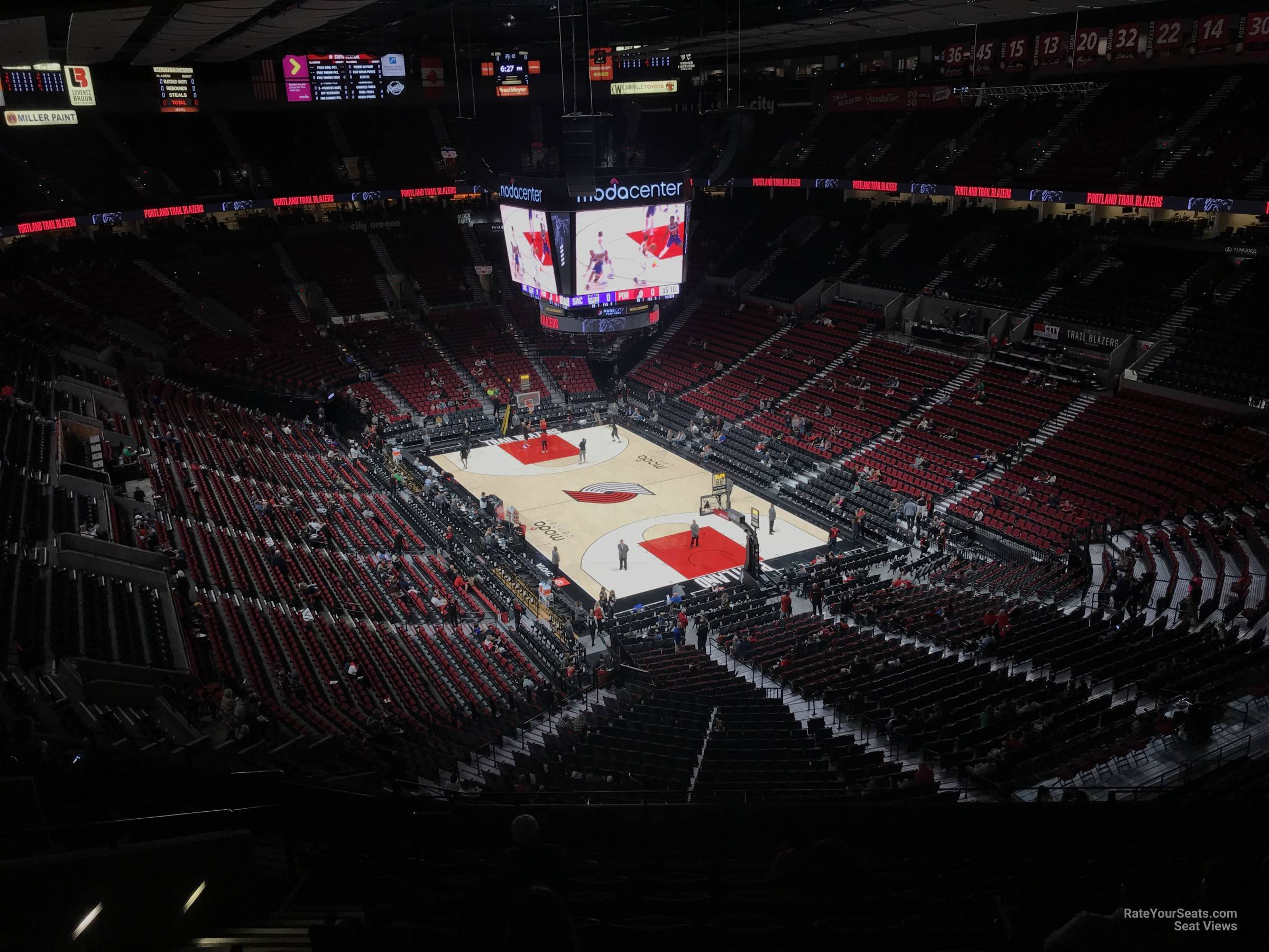 Section 329 seat view