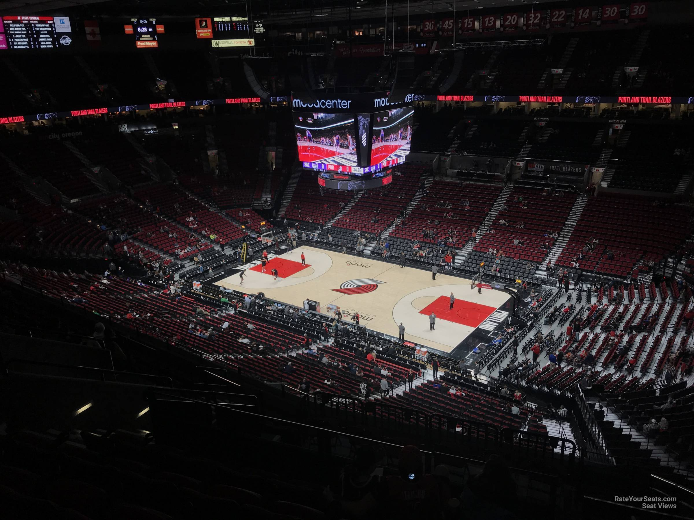 Section 332 seat view