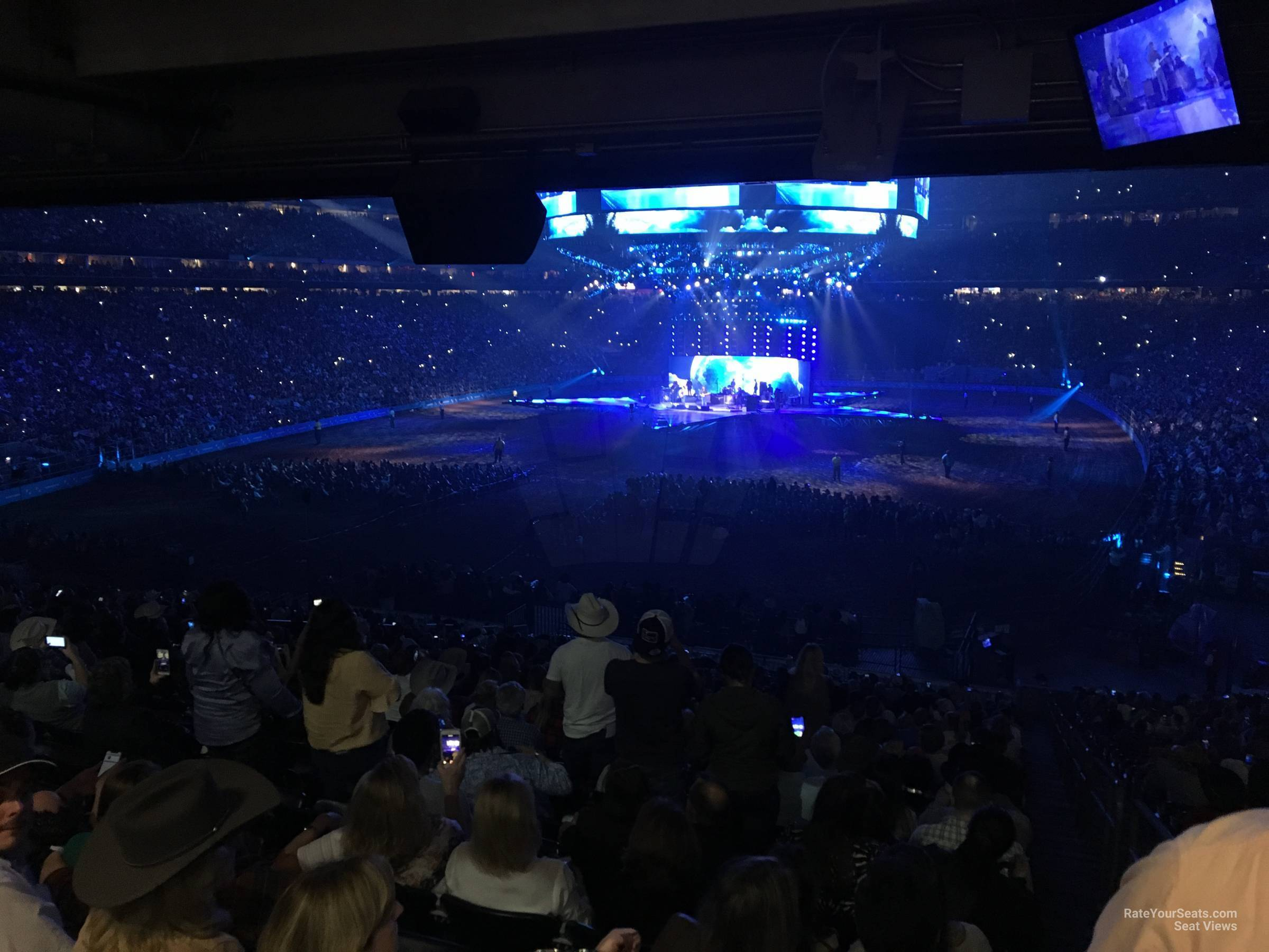 Concert Seat View for NRG Stadium Section 115, Row HH