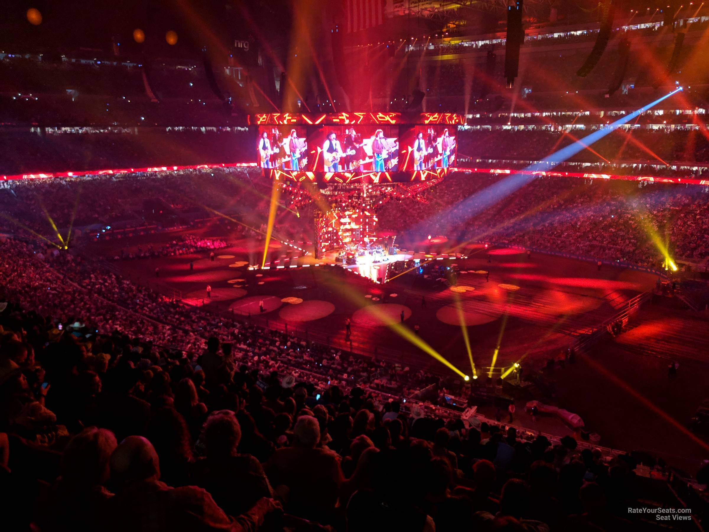 Section 304 at NRG Stadium for Concerts - RateYourSeats.com