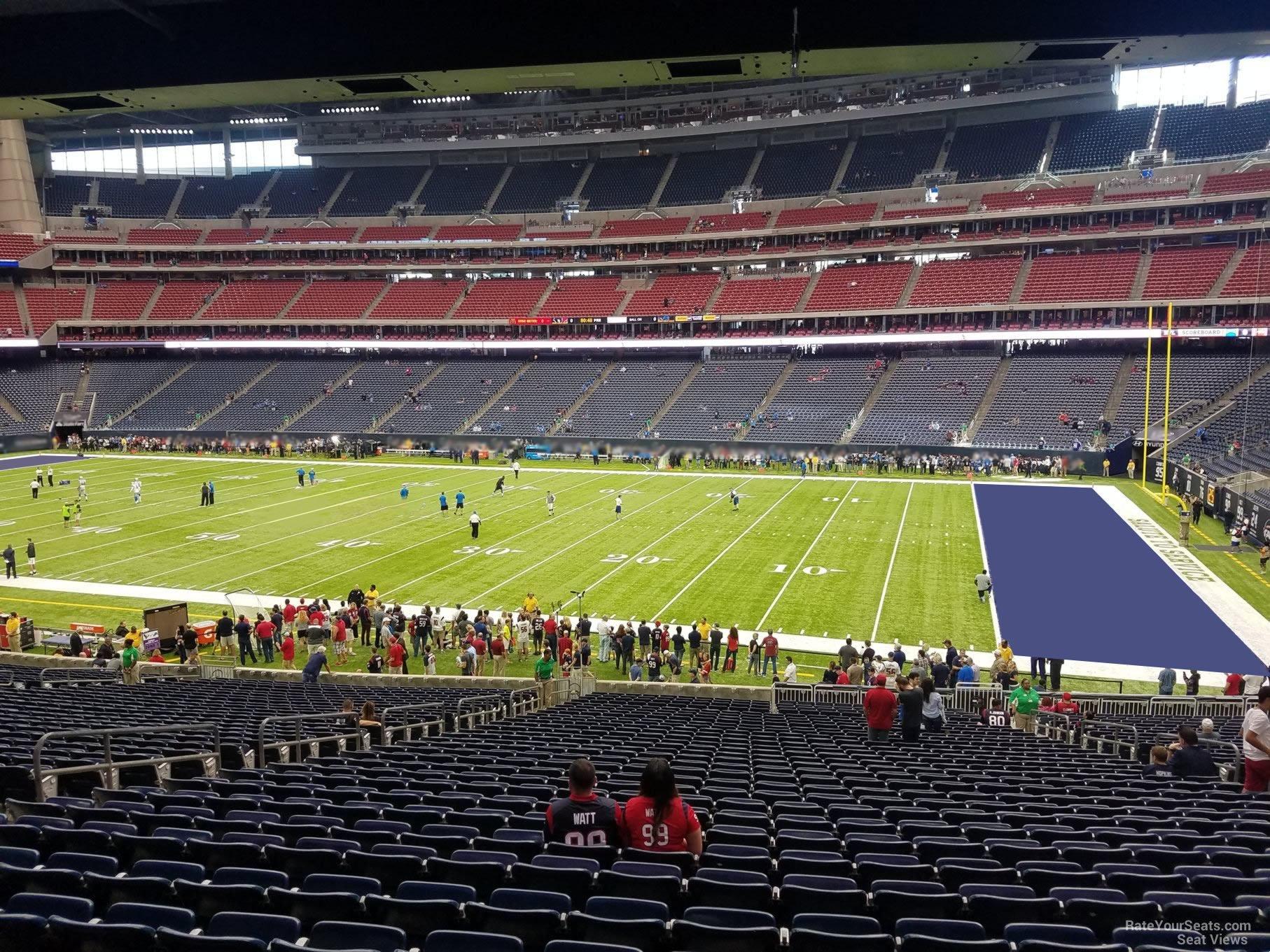 Nrg Stadium Section 103 Houston Texans Rateyourseats Com