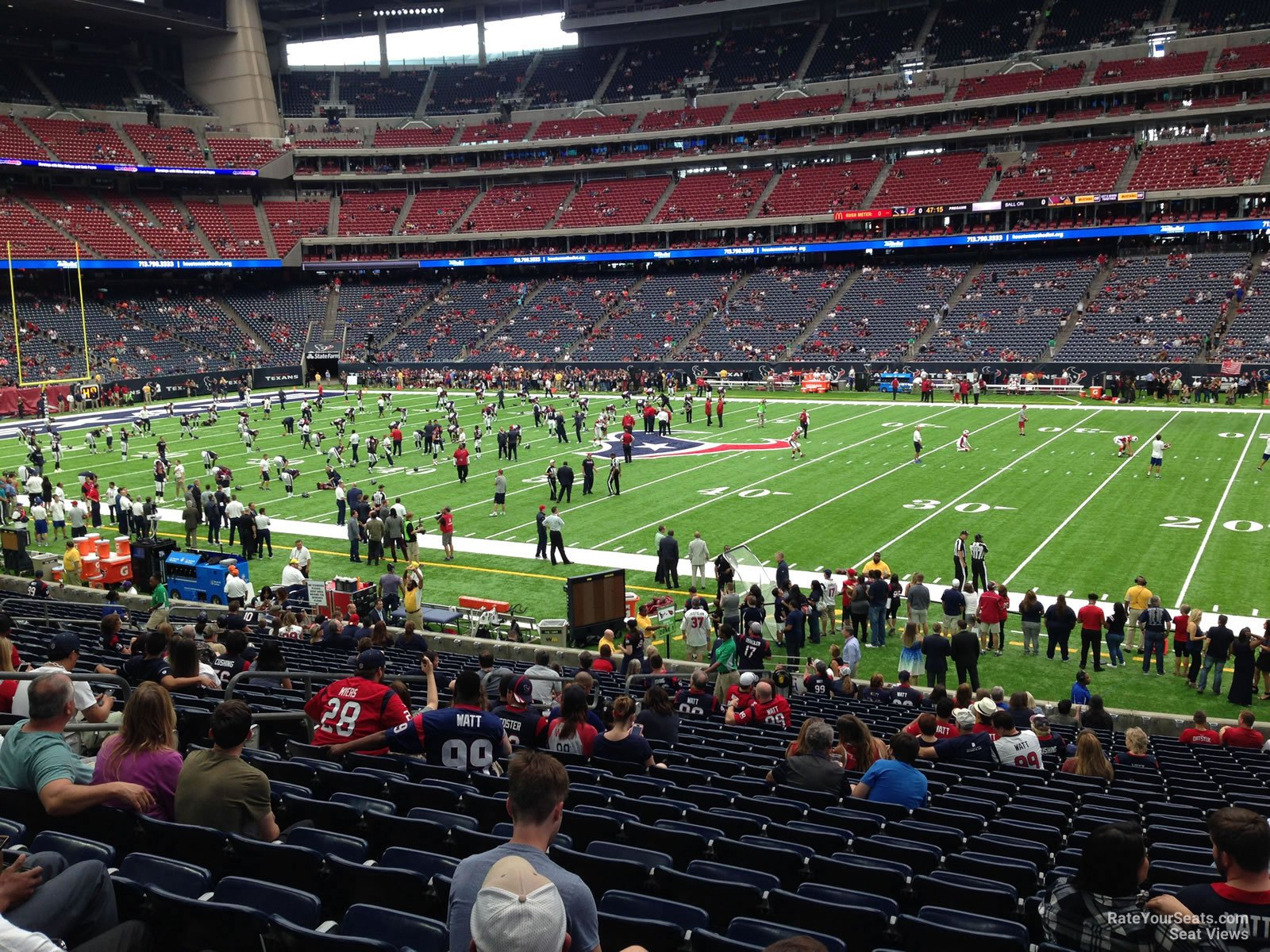 Nrg Stadium Section 104 Houston Texans Rateyourseats Com