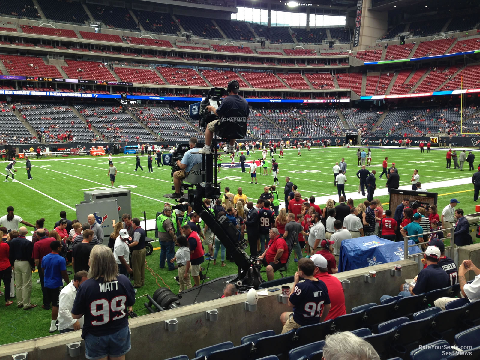 Houston Texans Seat View For Nrg Stadium Section 109