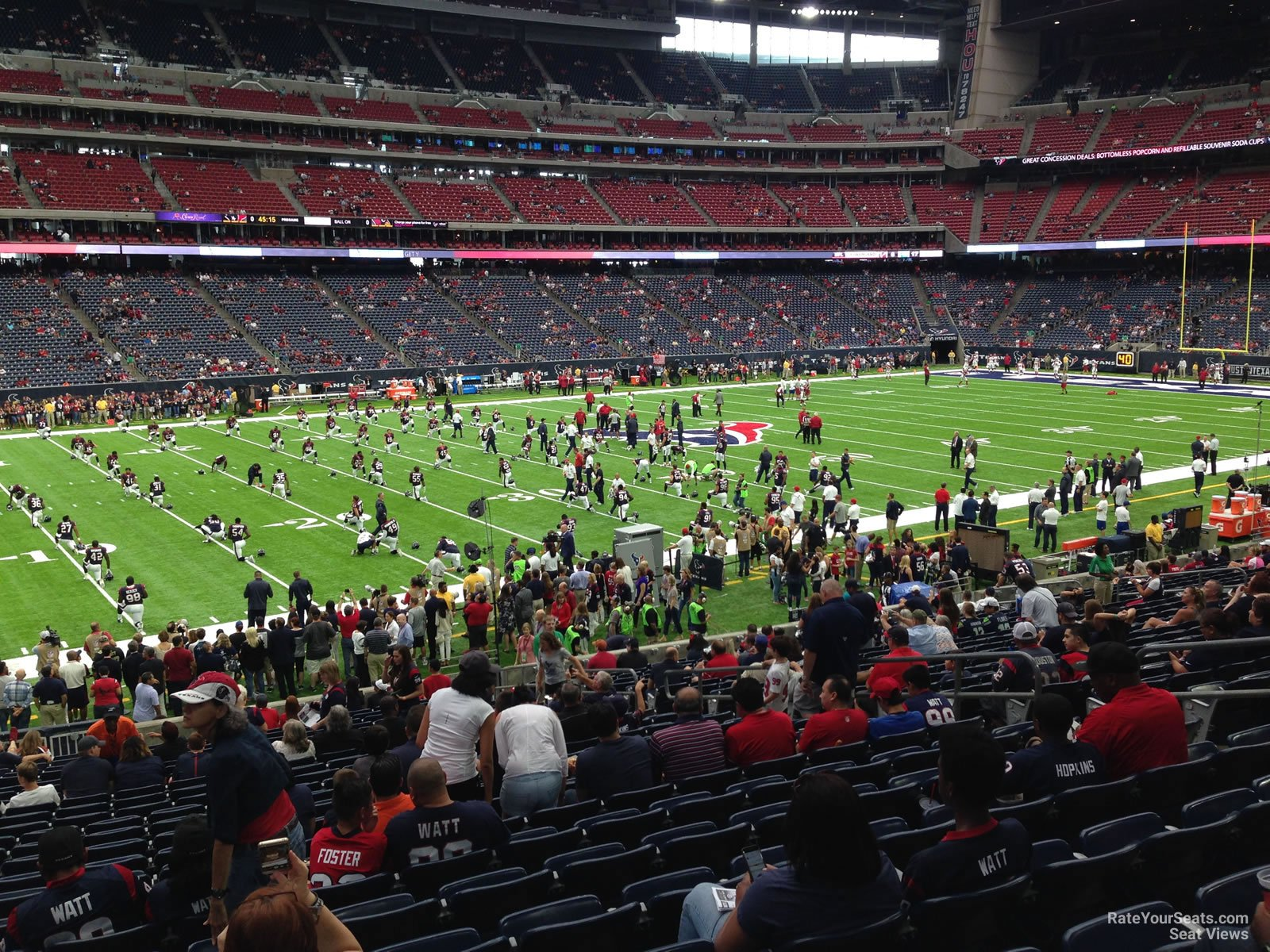NRG Stadium Section 110 - Houston Texans - RateYourSeats.com